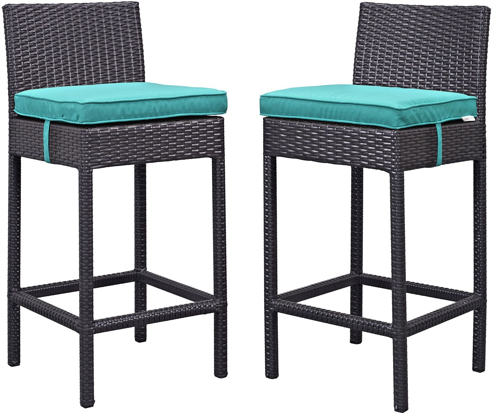 Lift Espresso Turquoise Outdoor Patio Bar Stool Set of 2  : eei 1281 exp trq from colemanfurniture.com size 1584 x 1328 jpeg 378kB