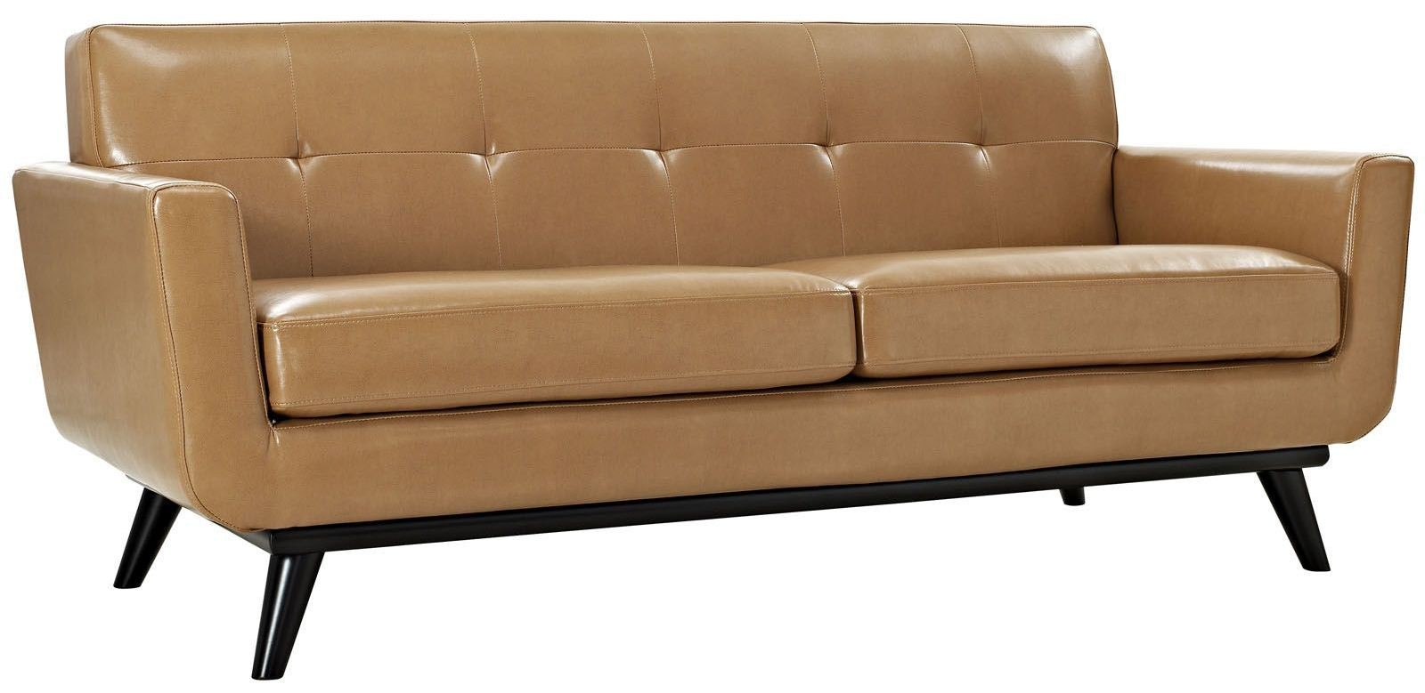 Engage Tan Leather Loveseat from Renegade (EEI-1337 ...