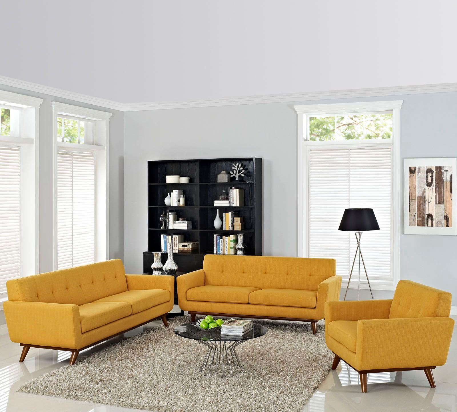 Engage citrus 3 piece living room set from renegade for 9 piece living room set
