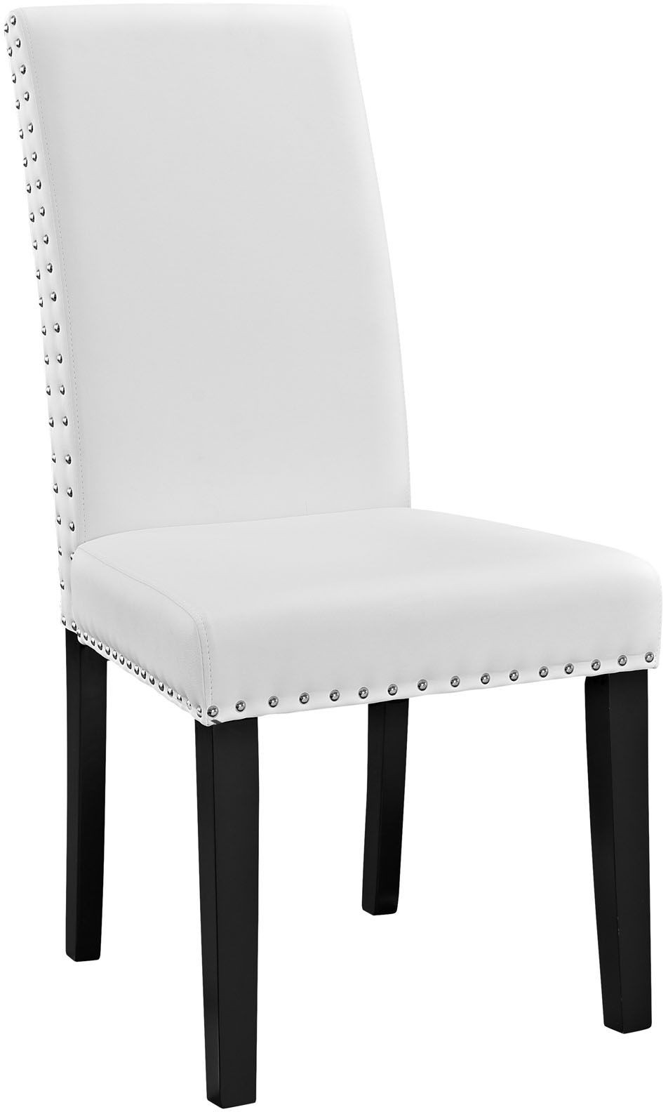Parcel White Dining Vinyl Side Chair EEI 1491 WHI  : eei 1491 whi from colemanfurniture.com size 952 x 1584 jpeg 67kB
