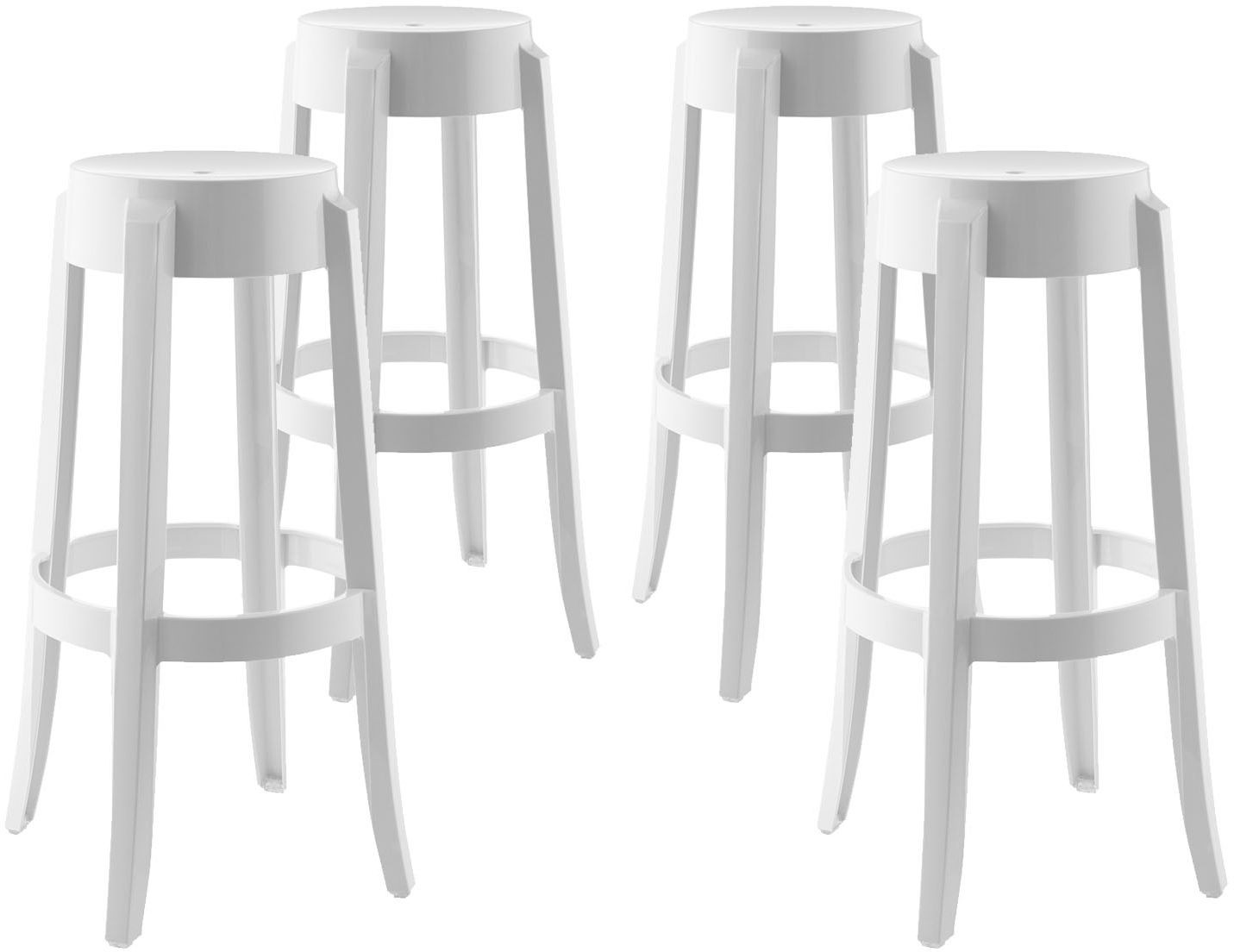 Casper White Bar Stool Set of 4 from Renegade Coleman  : eei 1680 whi from colemanfurniture.com size 1431 x 1104 jpeg 94kB