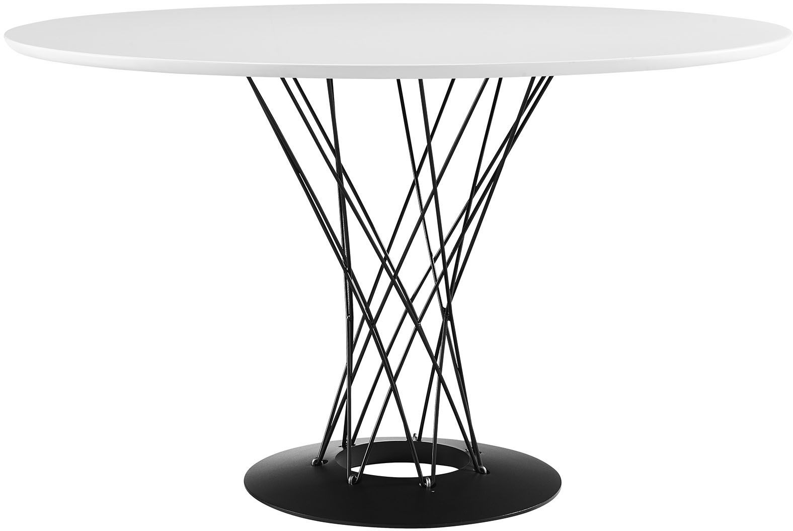 Cyclone White Wood Top Dining Table from Renegade  : eei 1713 whi from colemanfurniture.com size 1576 x 1056 jpeg 117kB
