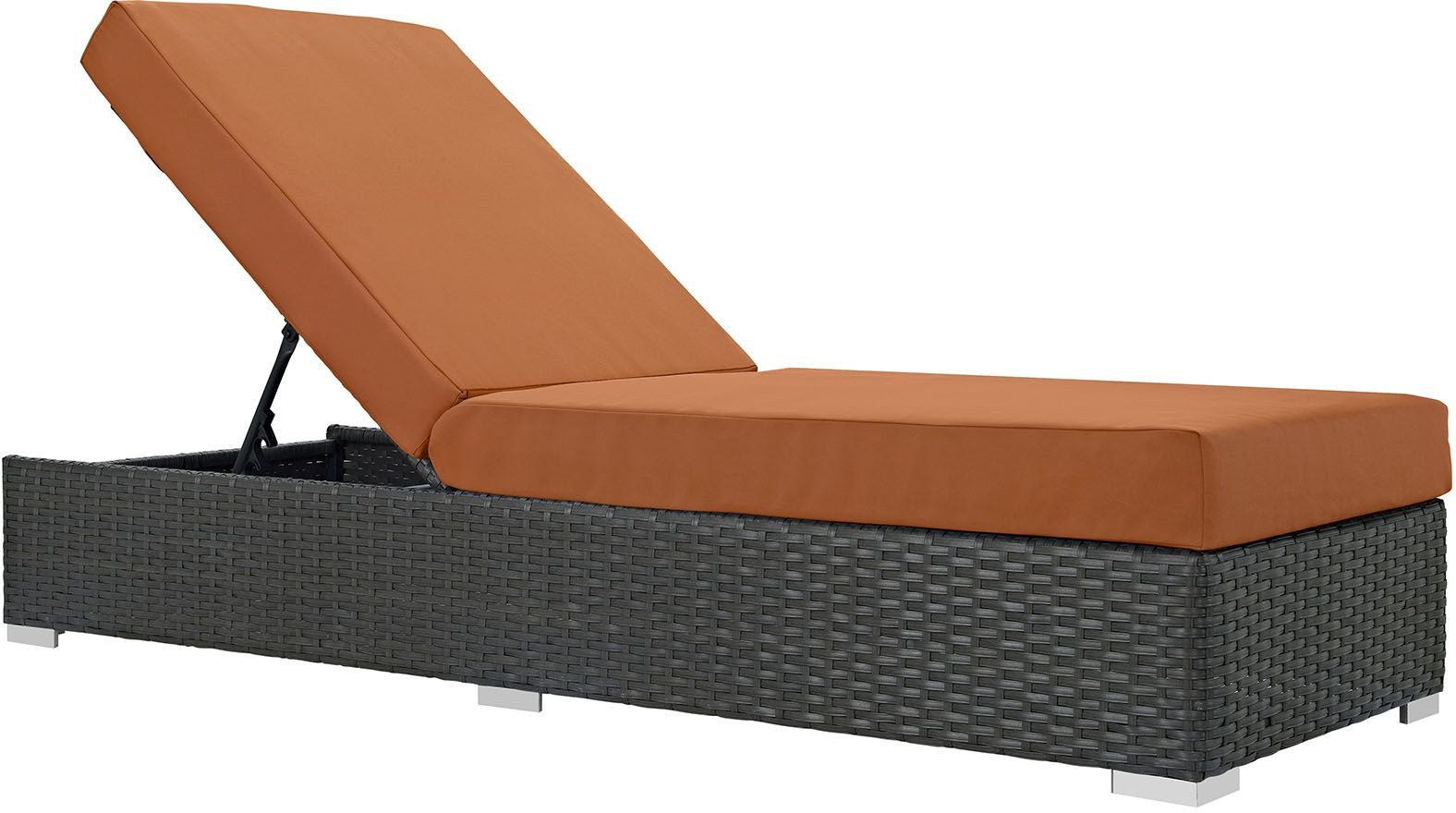 Sojourn Canvas Tuscan Outdoor Patio Sunbrella Chaise