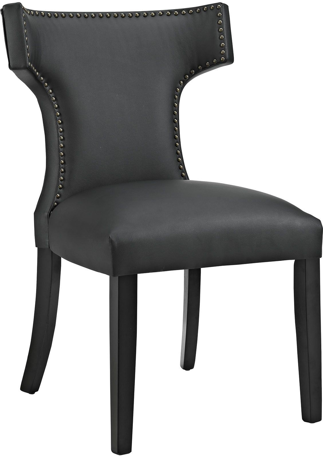 Curve Black Vinyl Dining Chair from Renegade Coleman  : eei 2220 blk from colemanfurniture.com size 1128 x 1592 jpeg 158kB