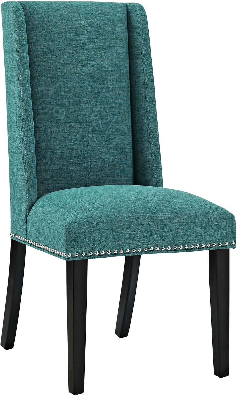 Baron Teal Upholstered Dining Chair From Renegade
