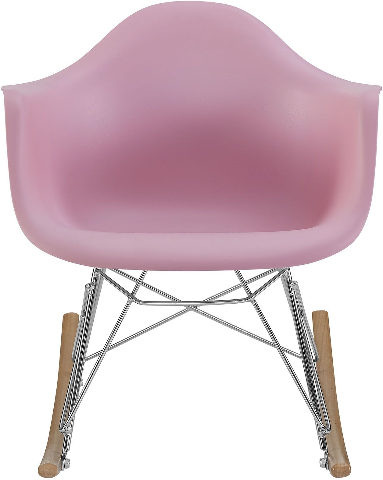 Rocker pink kids chair from renegade coleman furniture for Pink kids chair