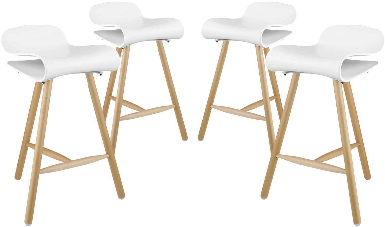 Clip White Bar Stool Set of 4 EEI 2406 WHI SET Renegade  : eei 2406 whi set from colemanfurniture.com size 1520 x 896 jpeg 95kB