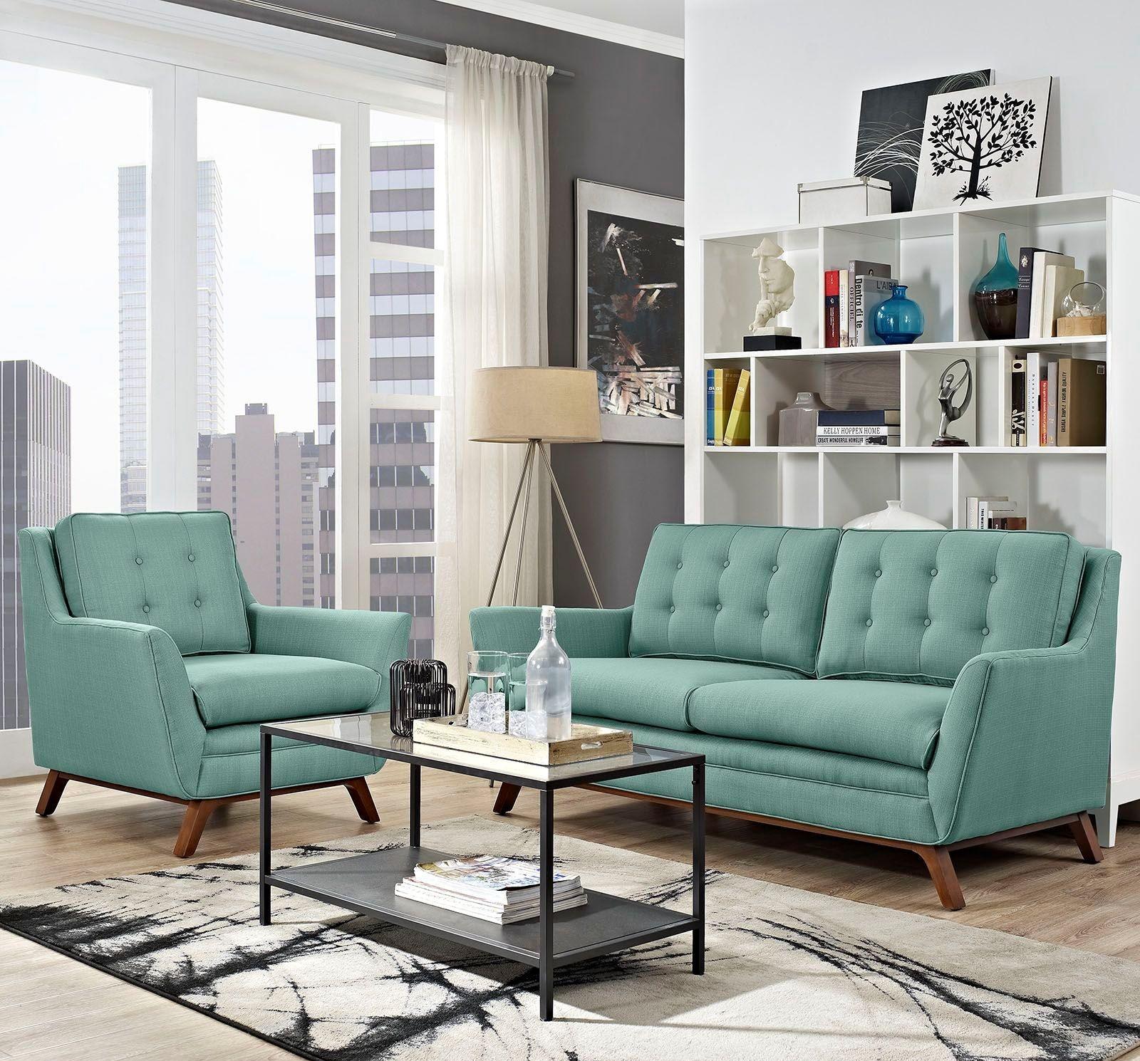 Eei 2432 lag set beguile laguna 2 piece upholstered living for Front room sets