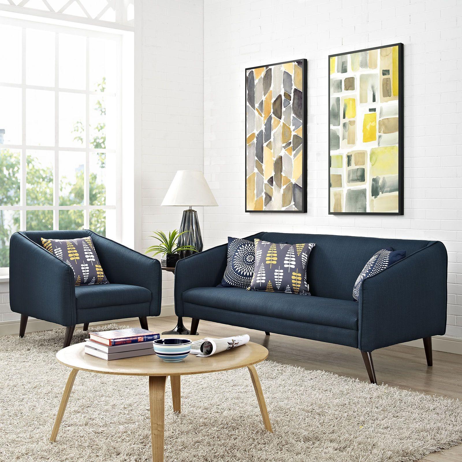 Slide azure 2 piece living room set from renegade for 2 piece living room set