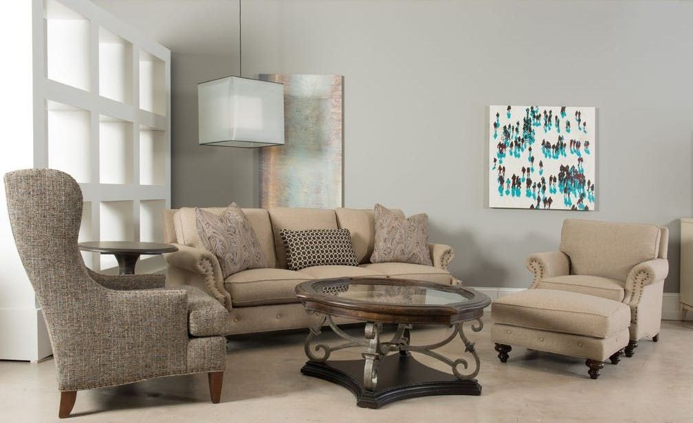 Emma Espresso Living Room Set By Sam Moore From Hooker
