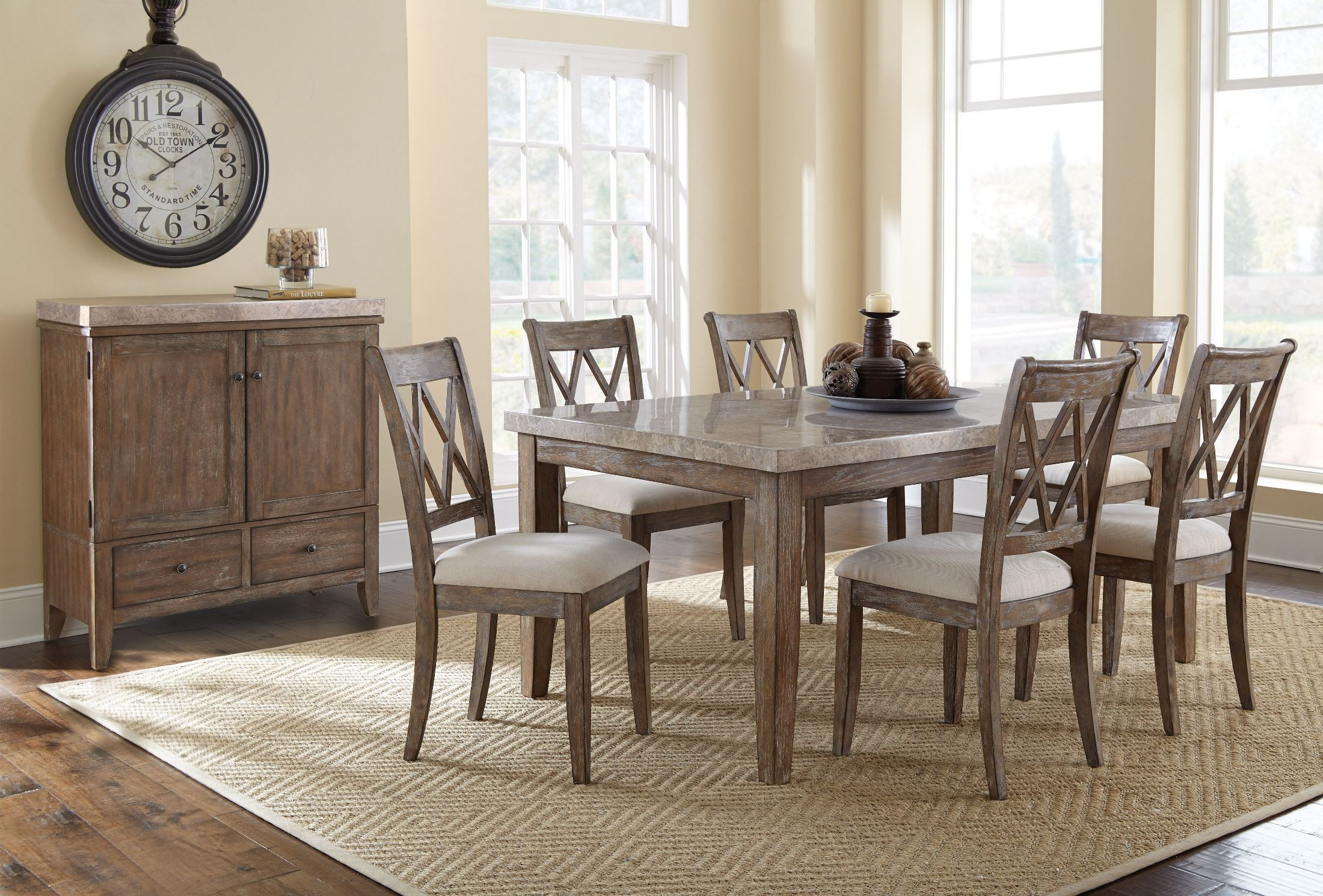 Franco Marble Top Dining Table. 823016. 832658. 823017