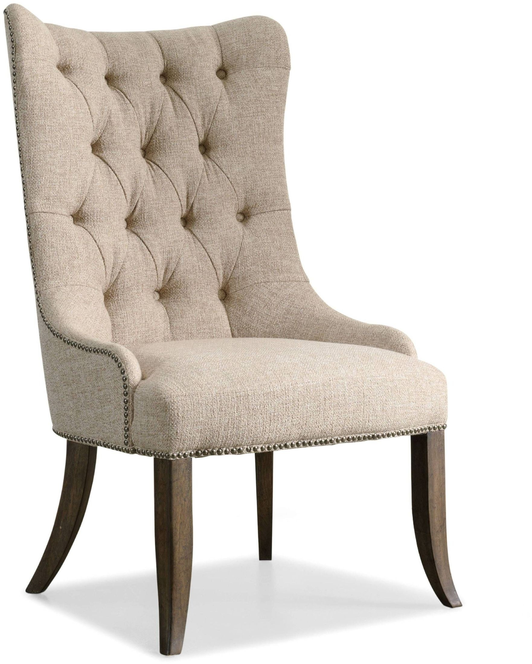 Rhapsody Beige Tufted Dining Chair Set Of 2 From Hooker