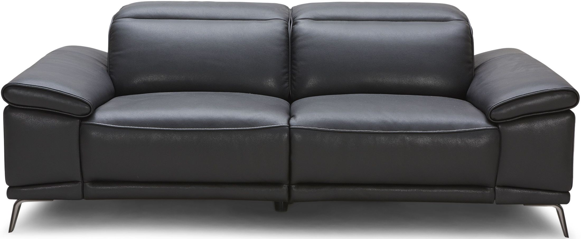 Giovani Black Leather Power Reclining Sofa From Jnm Coleman Furniture