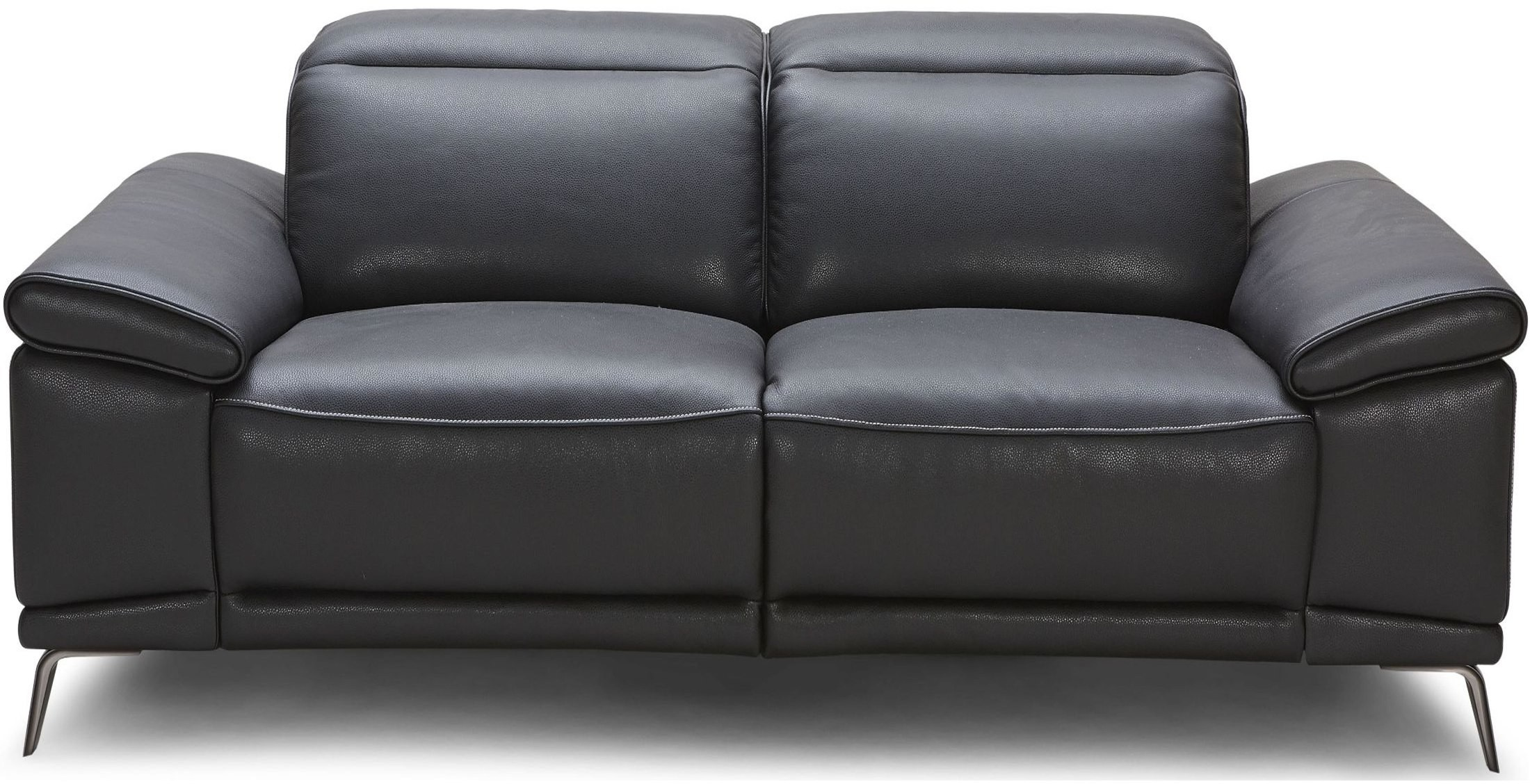 Giovani Black Leather Power Reclining Loveseat From Jnm Coleman Furniture