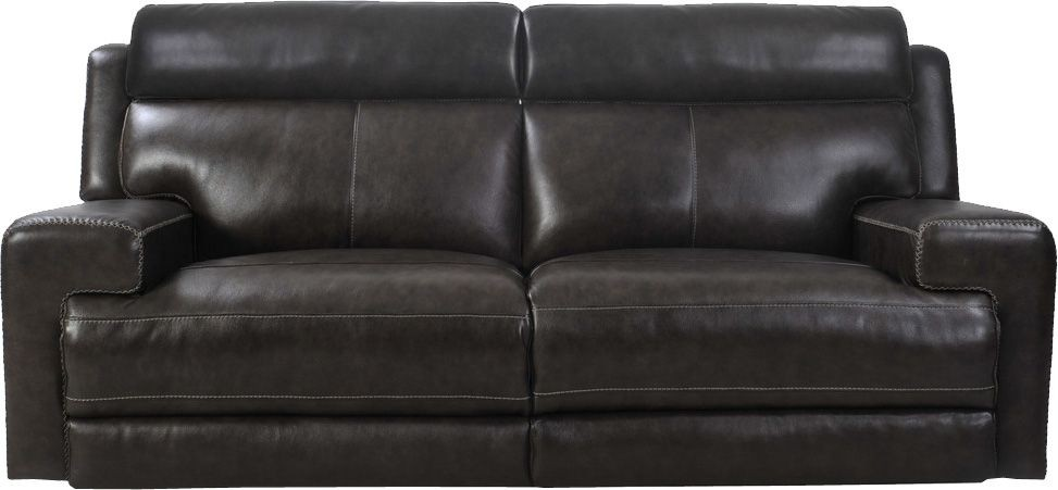 Glacier Graphite Dual Power Reclining Sofa From Parker