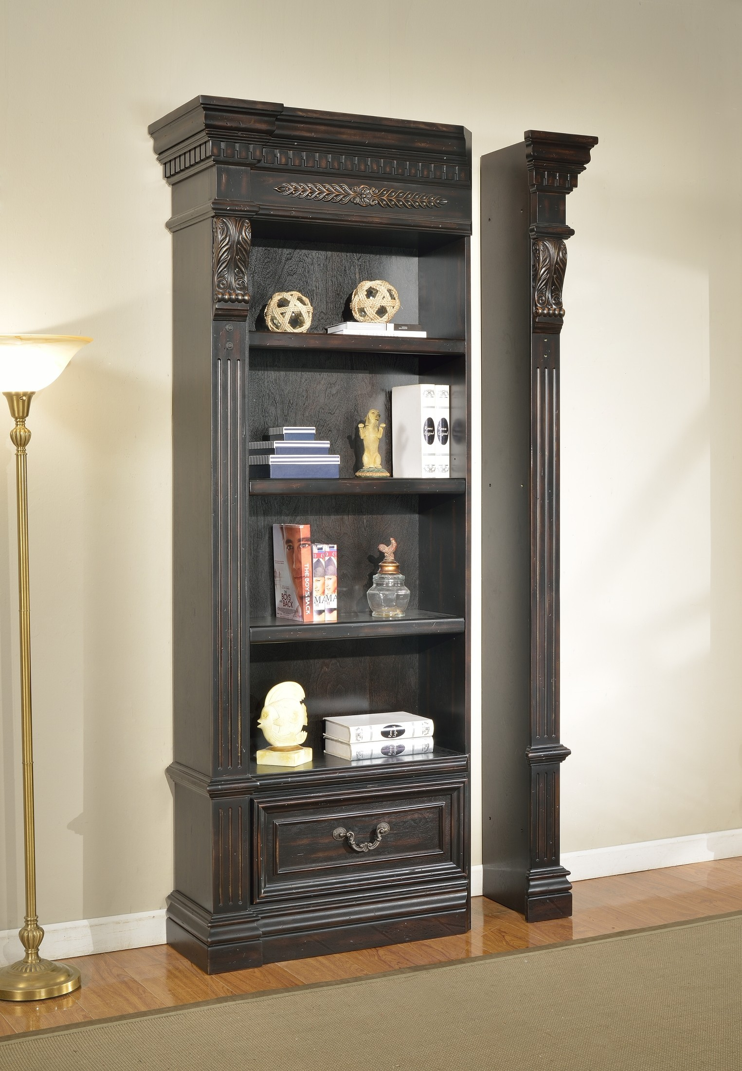 Grand Manor Palazzo Museum Bookcase From Renegade Coleman Furniture