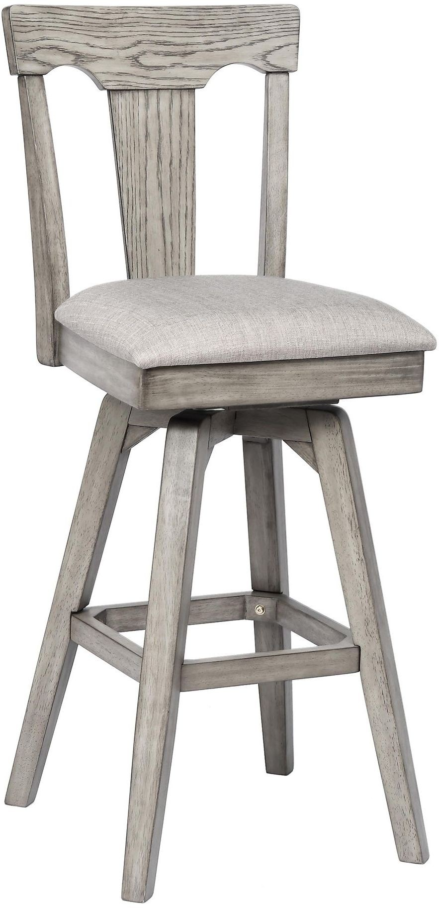 Graystone Burnished Gray 30 Barstool Set Of 2 From Eci Furniture