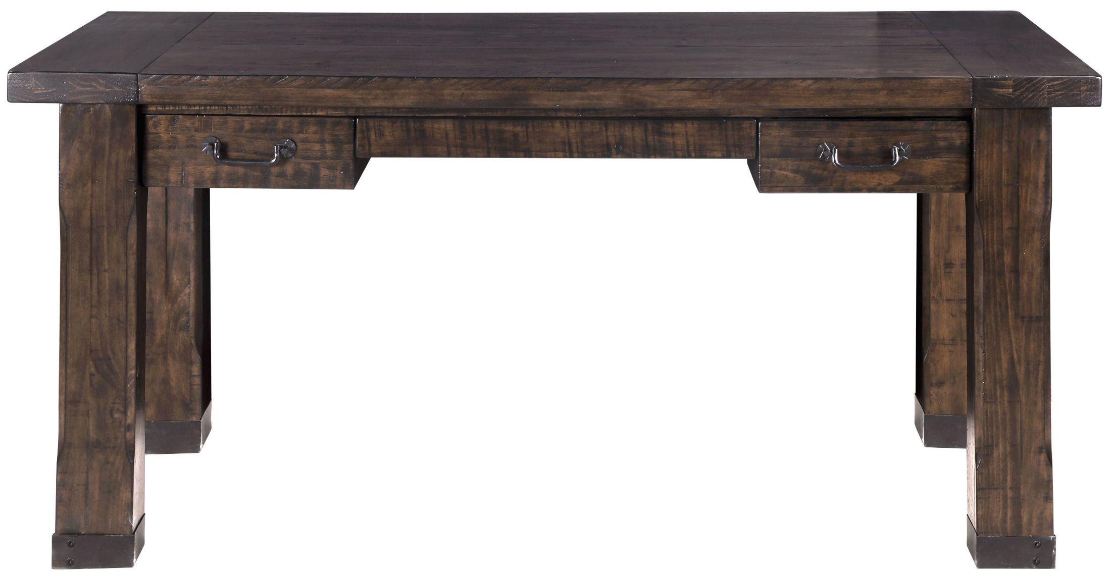 Rustic Pine Writing Desk