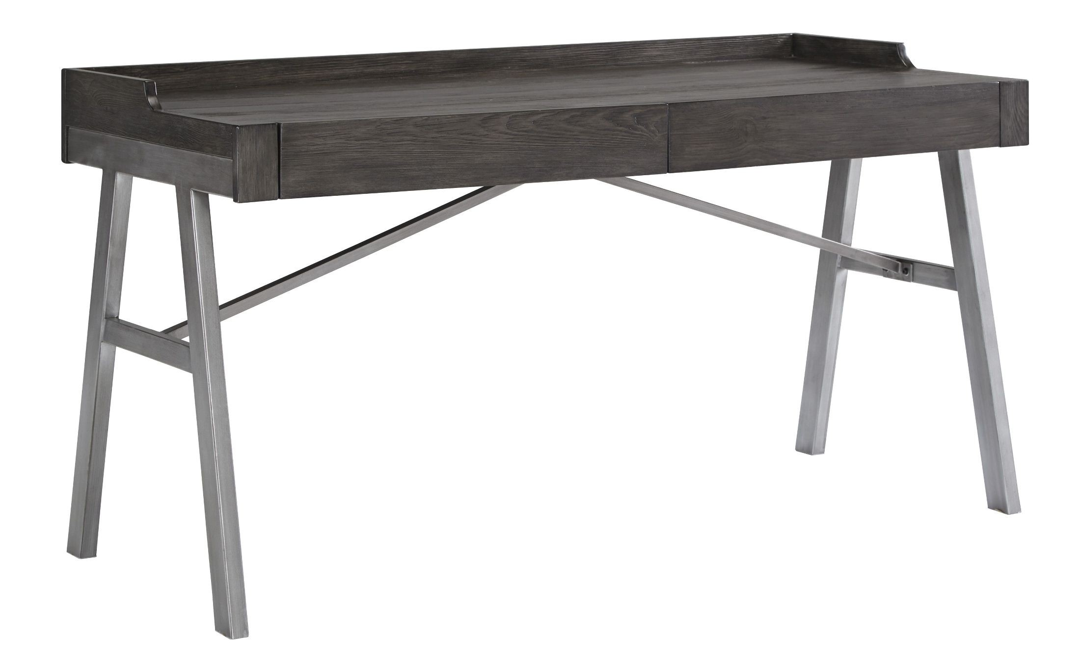 Raventown Grayish Brown Home Office Desk from Ashley   Coleman Furniture