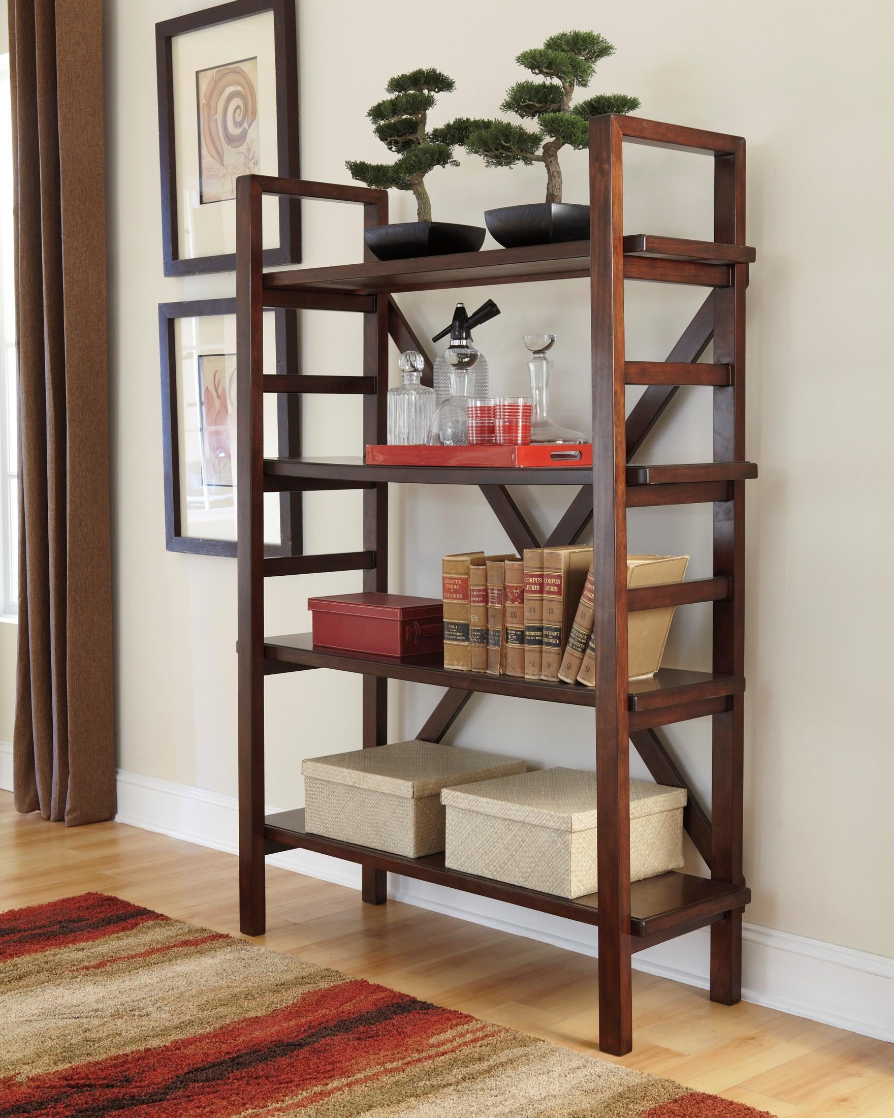 Hindell Park Bookcase, H695-17, Ashley Furniture