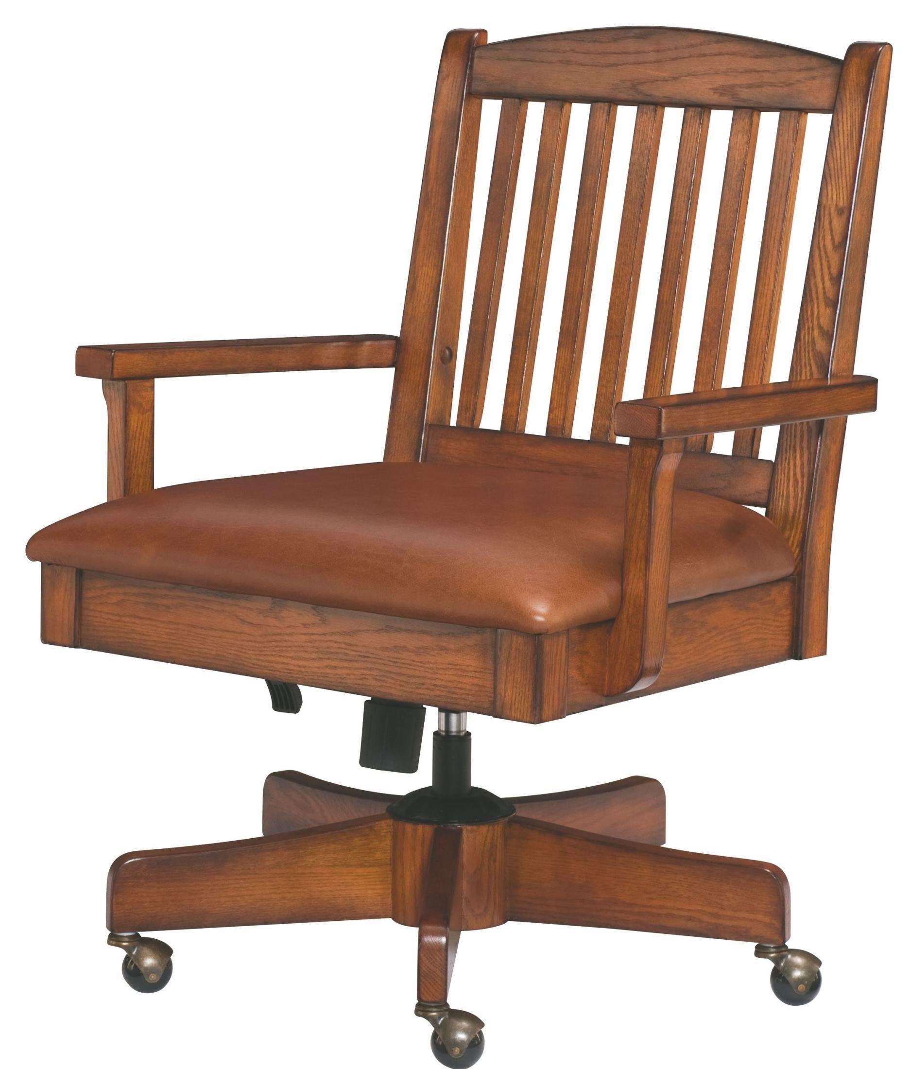 Sedona Mission Oak Desk Chair from Hammary T T 00