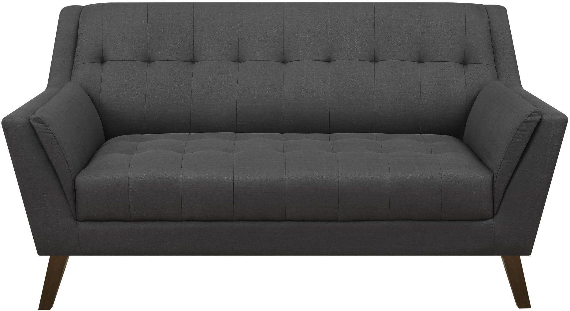 Binetti Charcoal Loveseat From Emerald Home Coleman Furniture