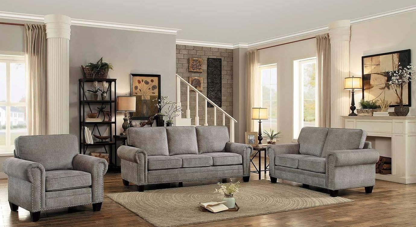 Cornelia Sand Living Room Set From Homelegance Coleman