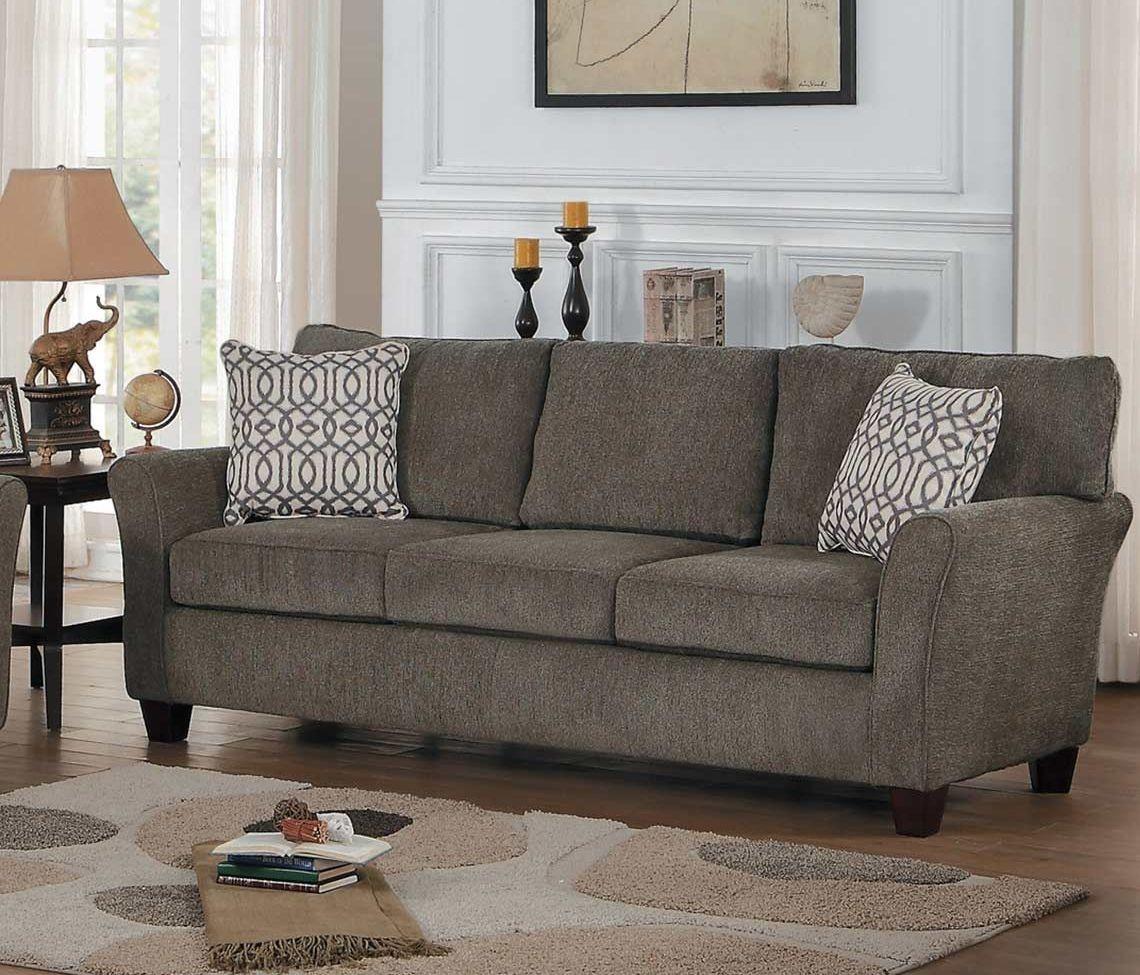 alain grey sofa from homelegance | coleman furniture