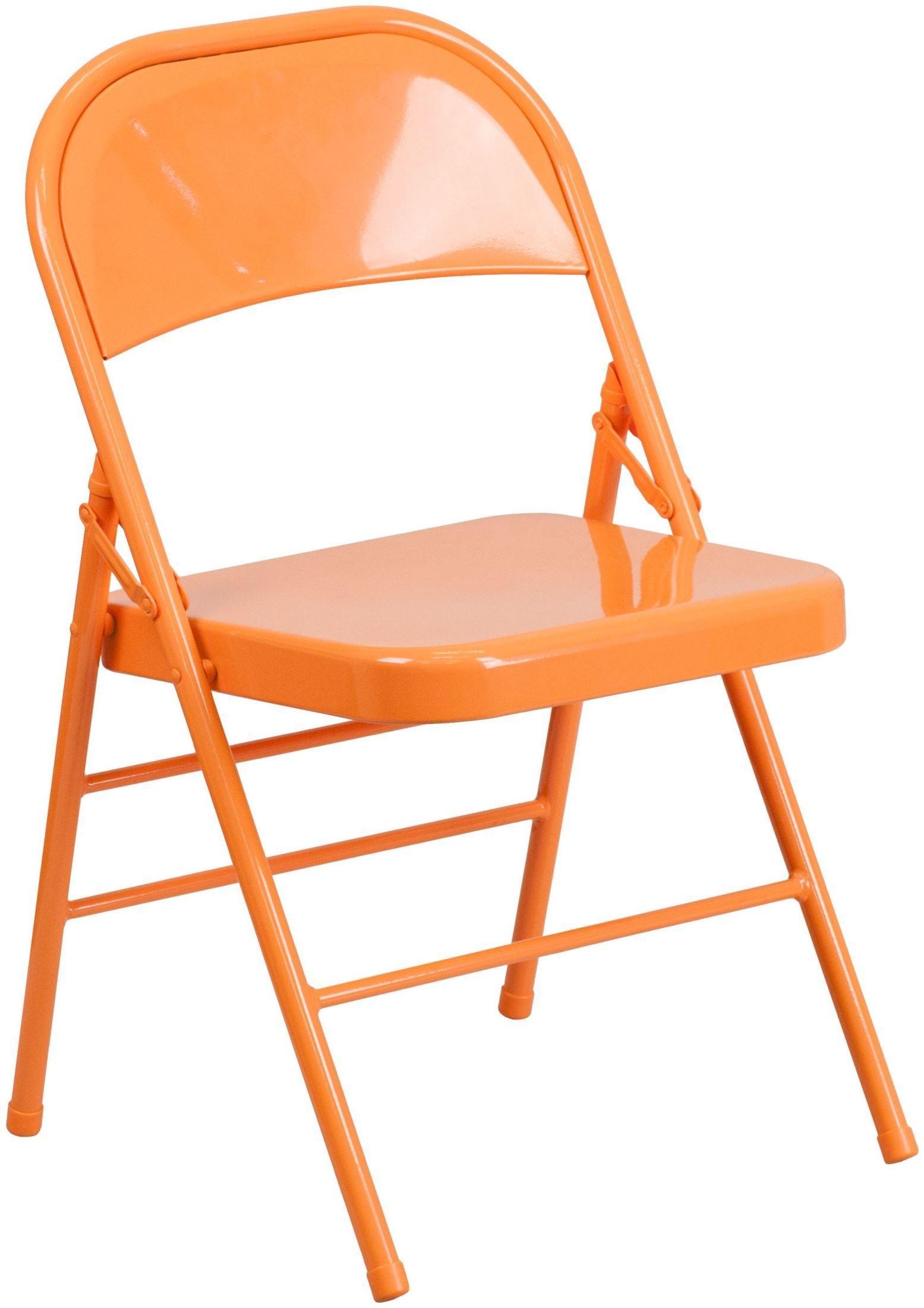 HERCULES COLORBURST Series Orange Marmalade Triple Braced Metal