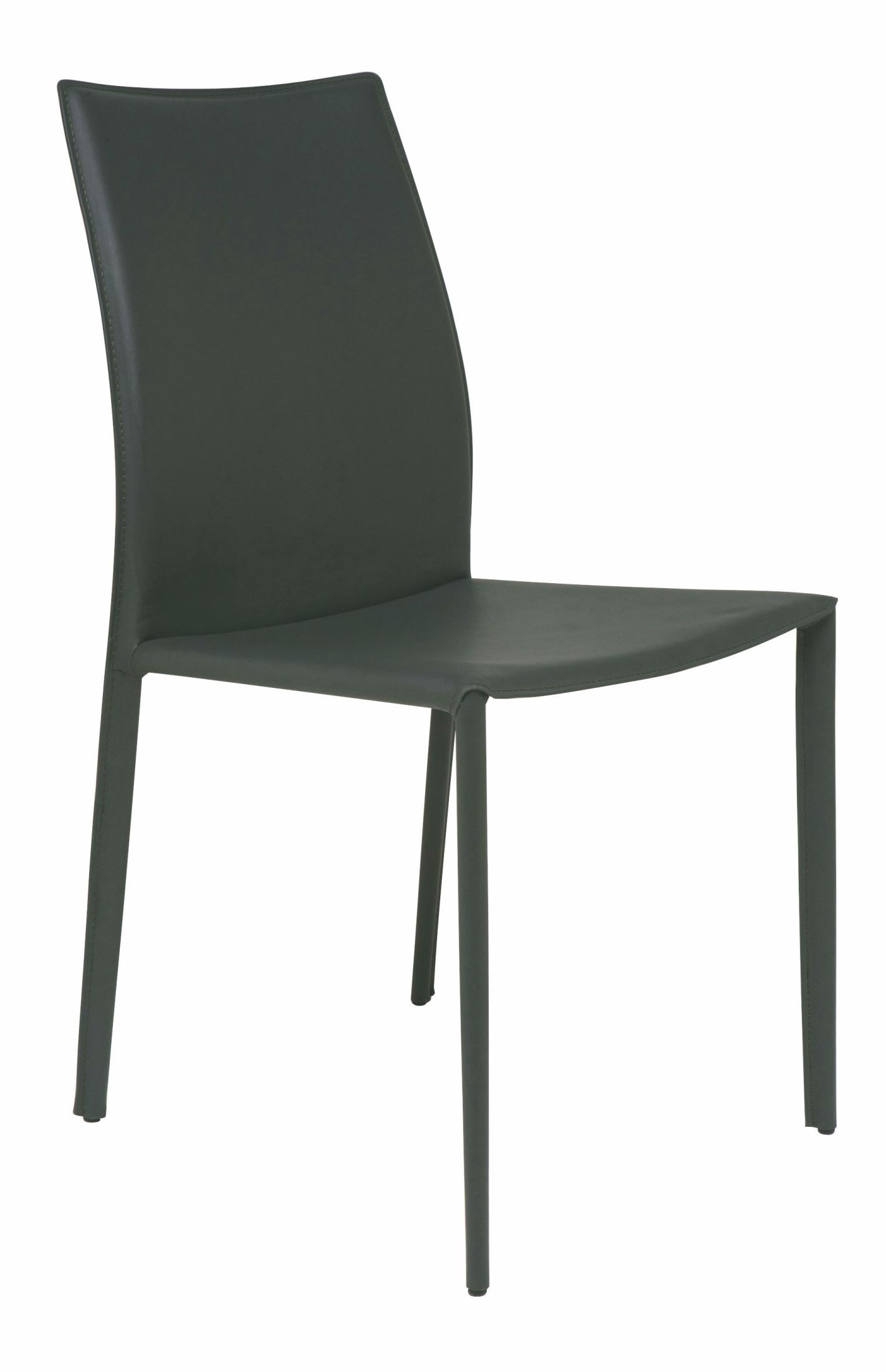 sienna dark grey leather dining chair from nuevo coleman furniture. Black Bedroom Furniture Sets. Home Design Ideas