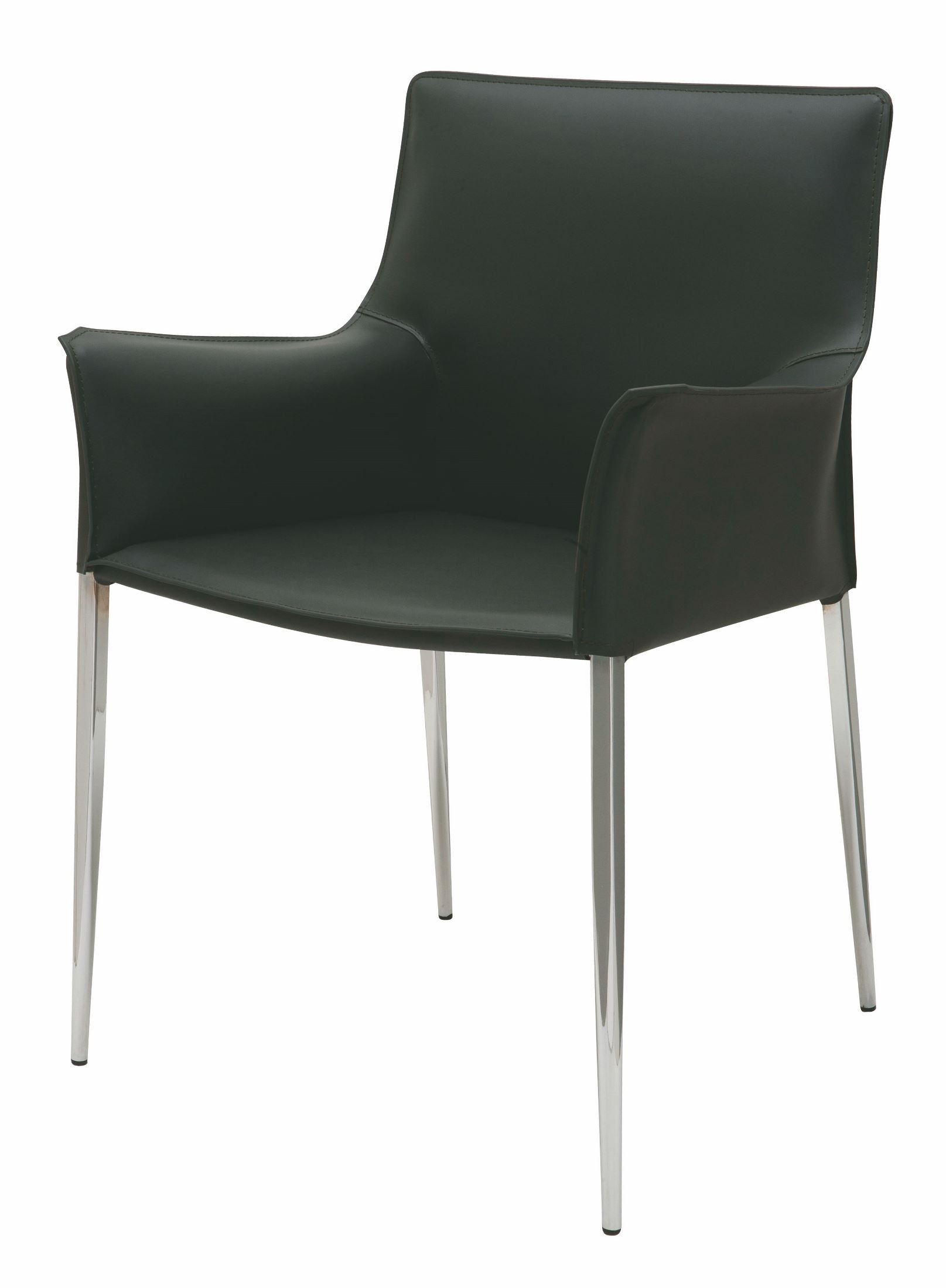 Ebony leather dining chairs perhaps shall