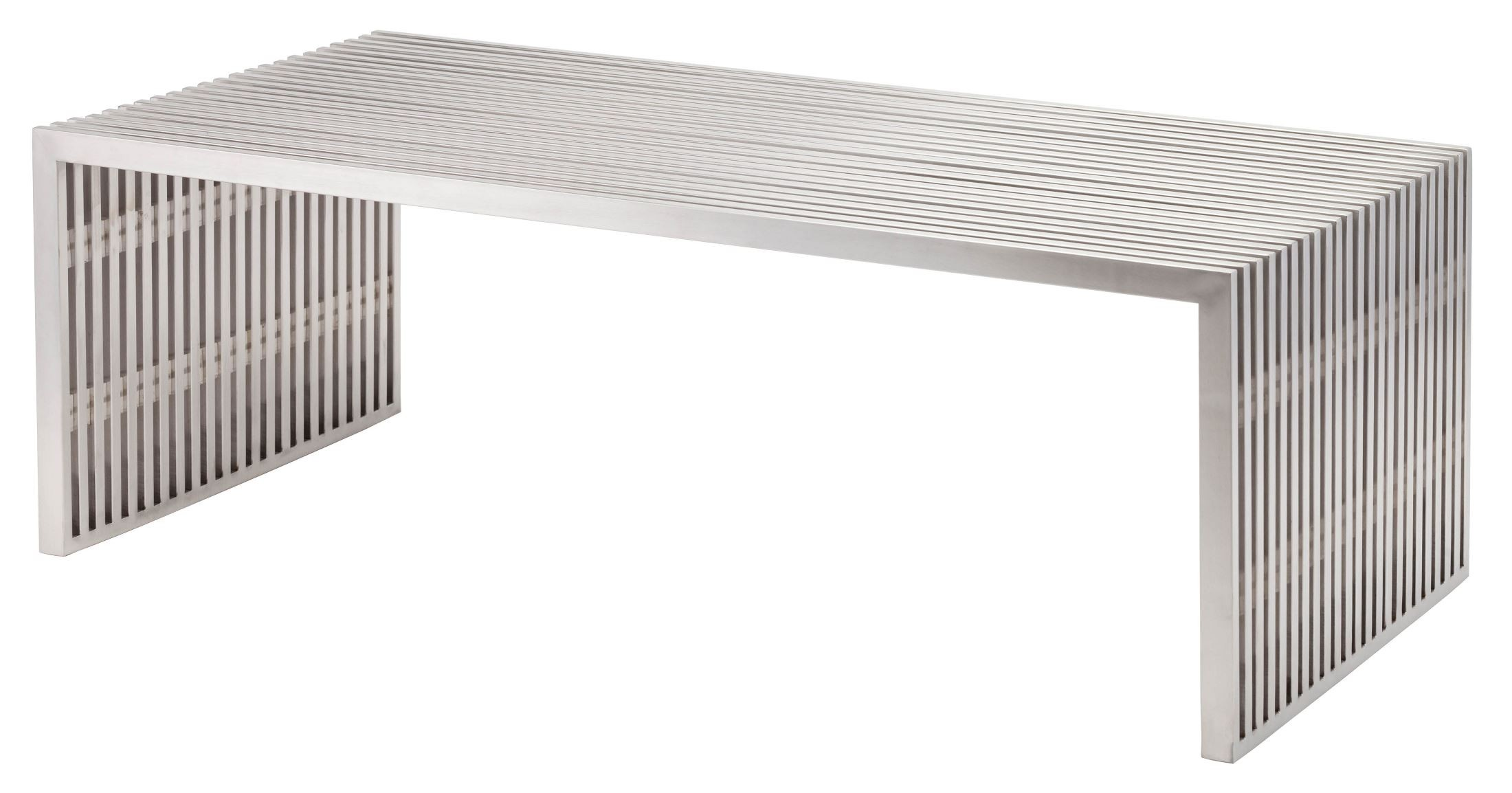 Amici Stainless Steel Coffee Table