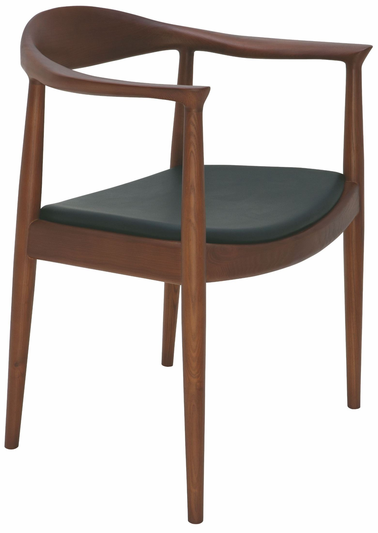 Johan Black Leather Dining Chair From Nuevo Coleman Furniture
