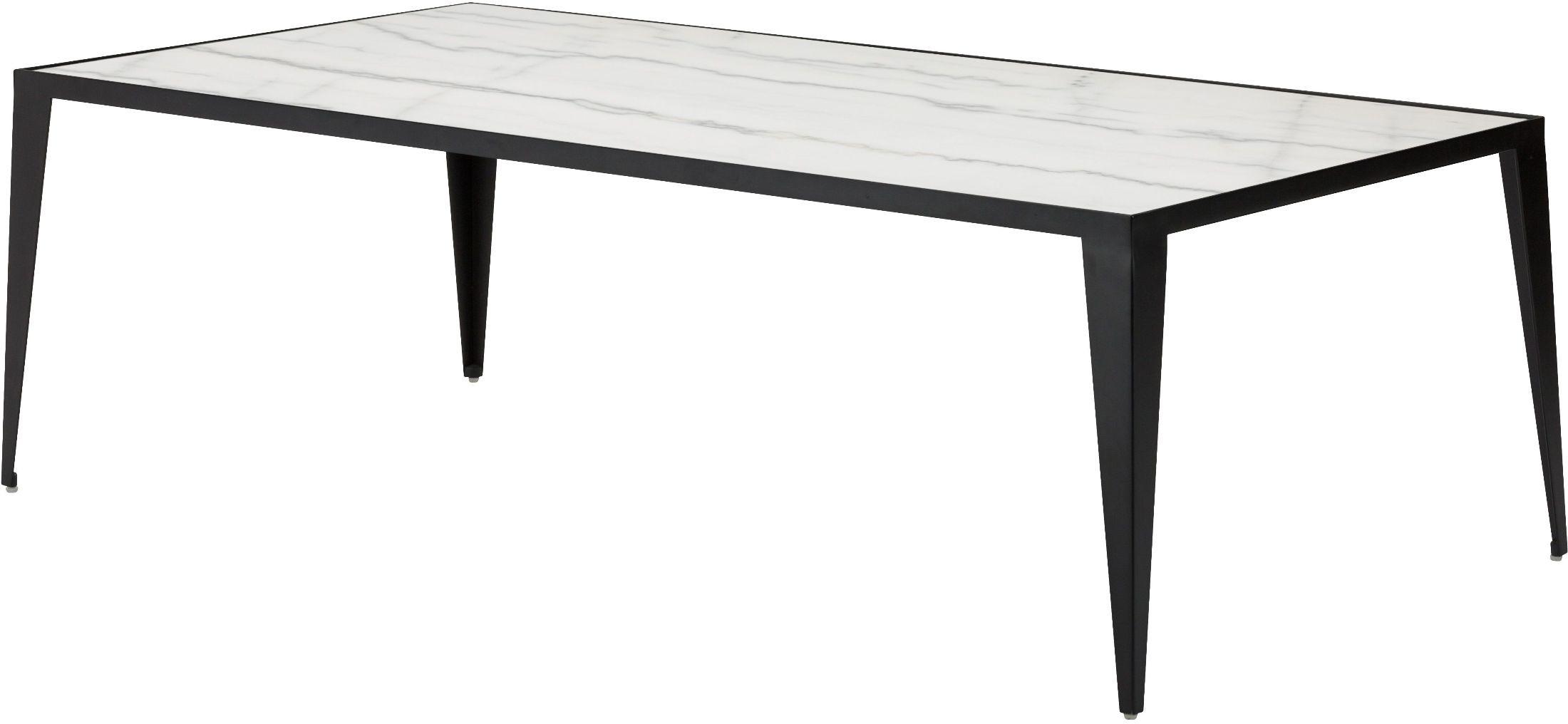 Mink White Stone Coffee Table Hgna136 Nuevo