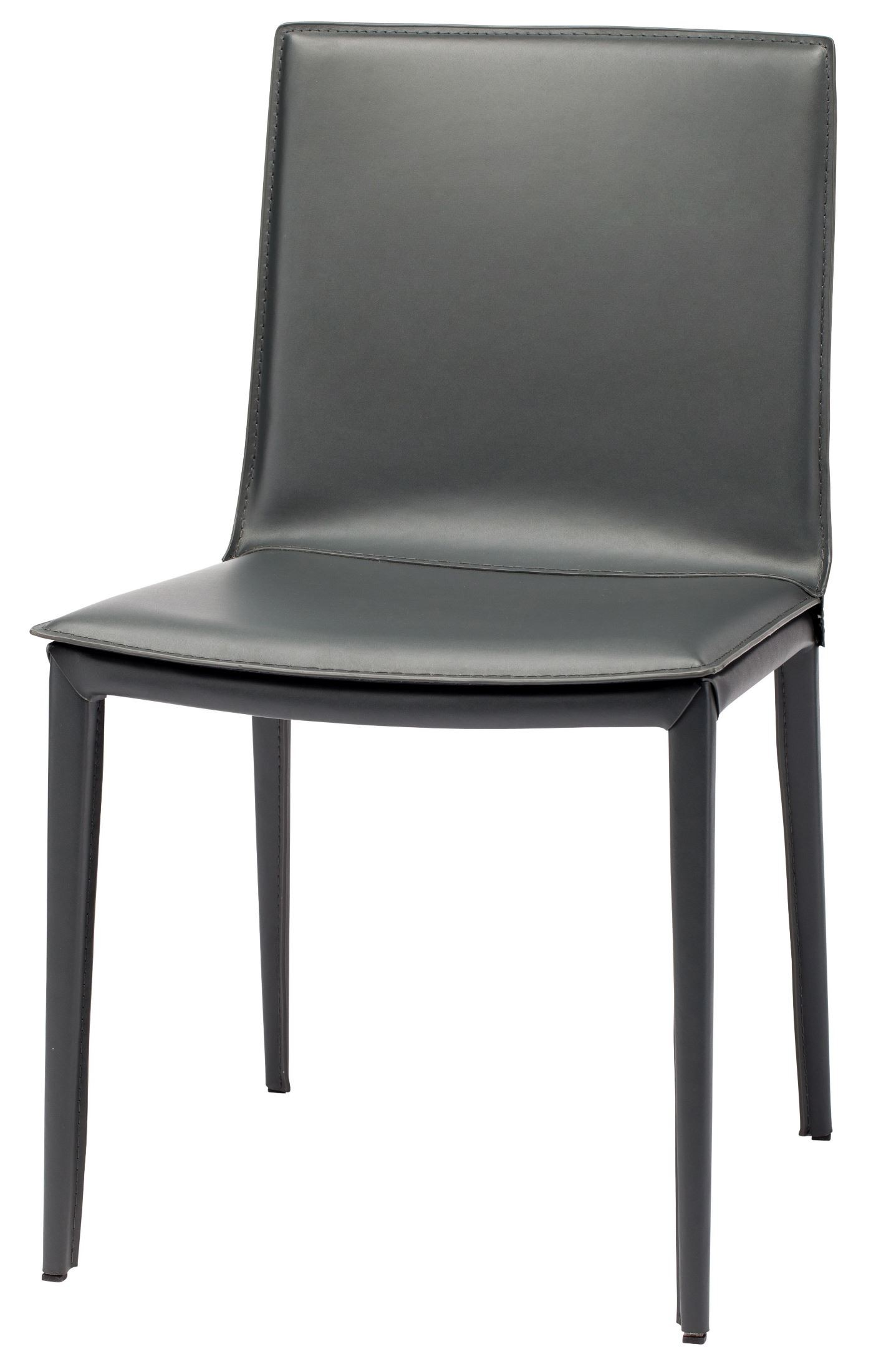 Palma Grey Leather Dining Chair From Nuevo Coleman Furniture