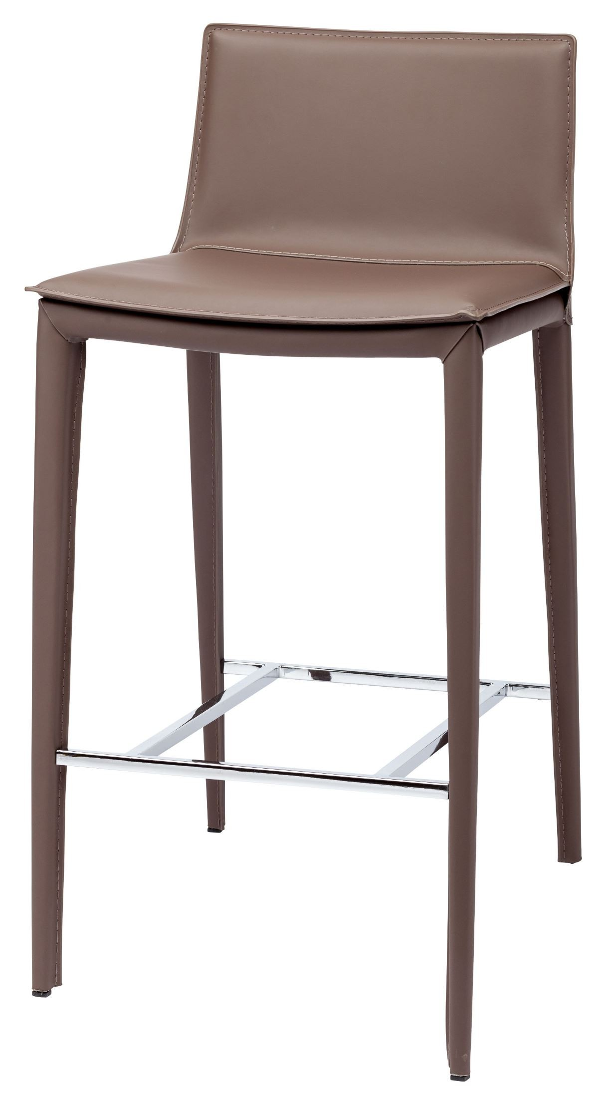 Palma Mink Leather Bar Stool From Nuevo Coleman Furniture