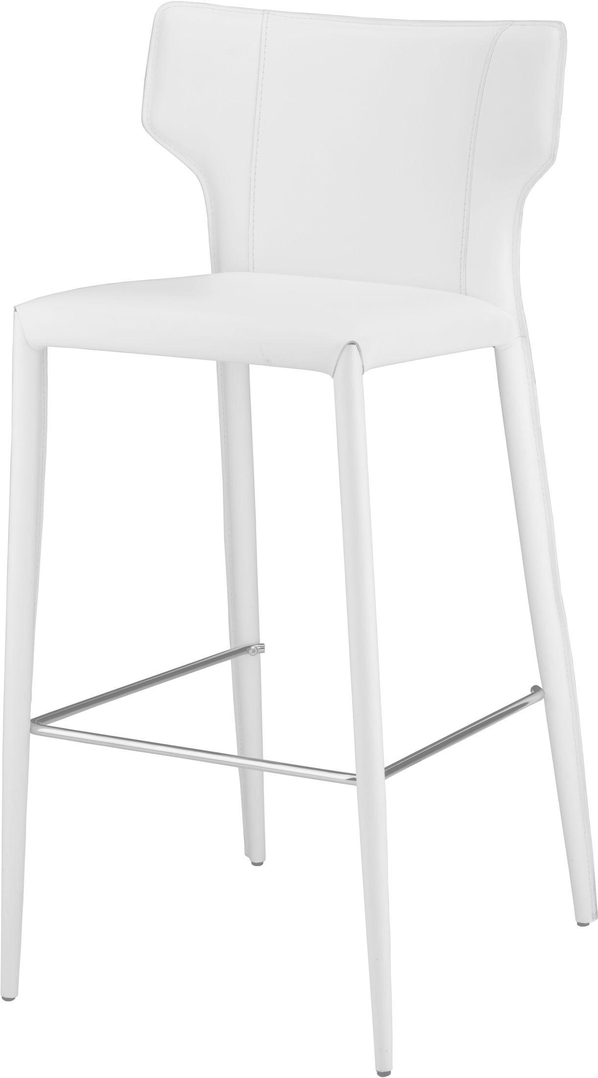 Wayne White Bar Stool Set Of 2 From Nuevo Coleman Furniture