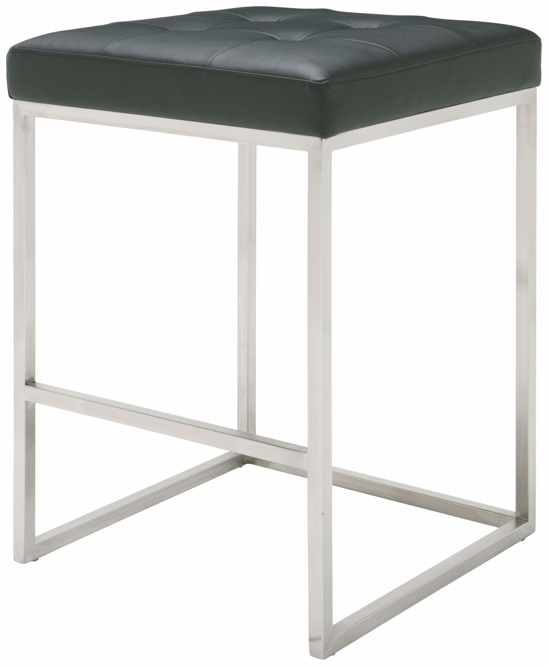Chi Black Leather Counter Stool From Nuevo Coleman Furniture