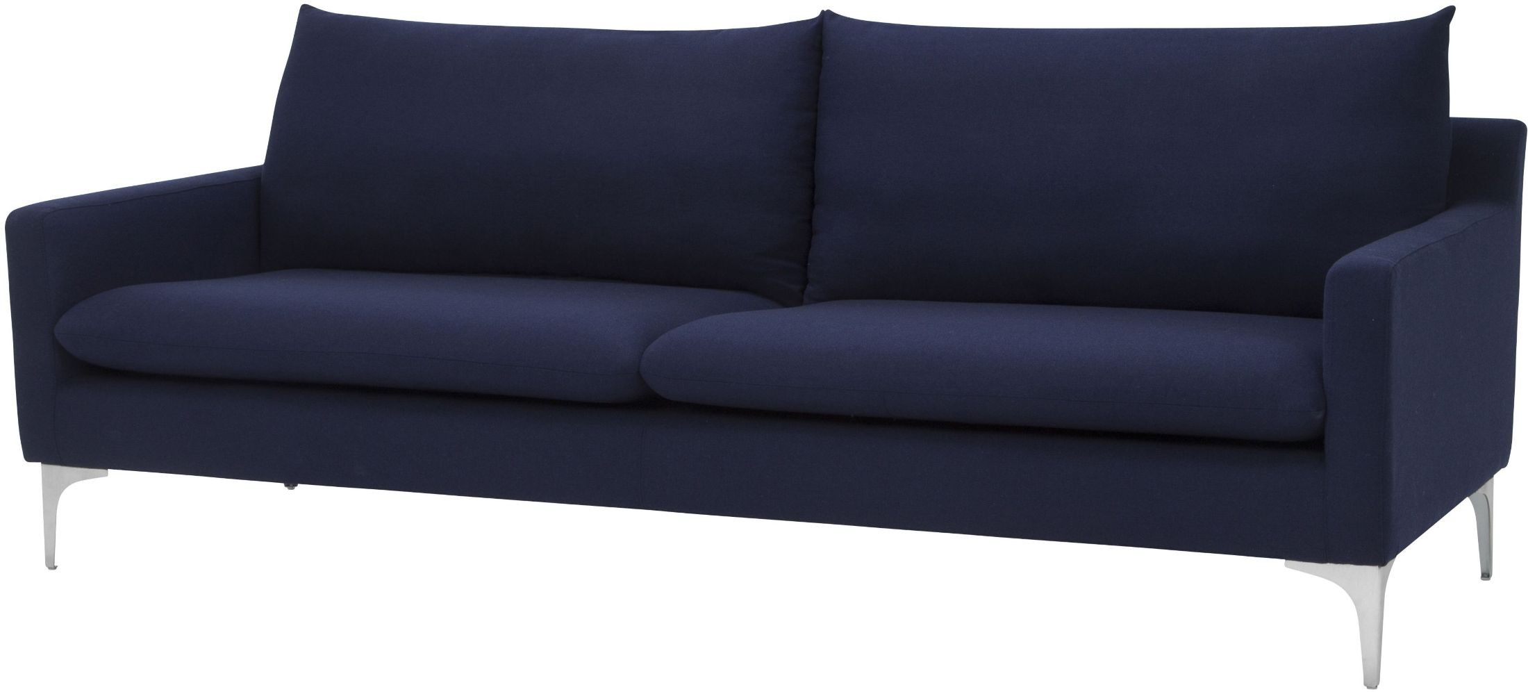 Anders Navy Blue Sofa From Nuevo Coleman Furniture