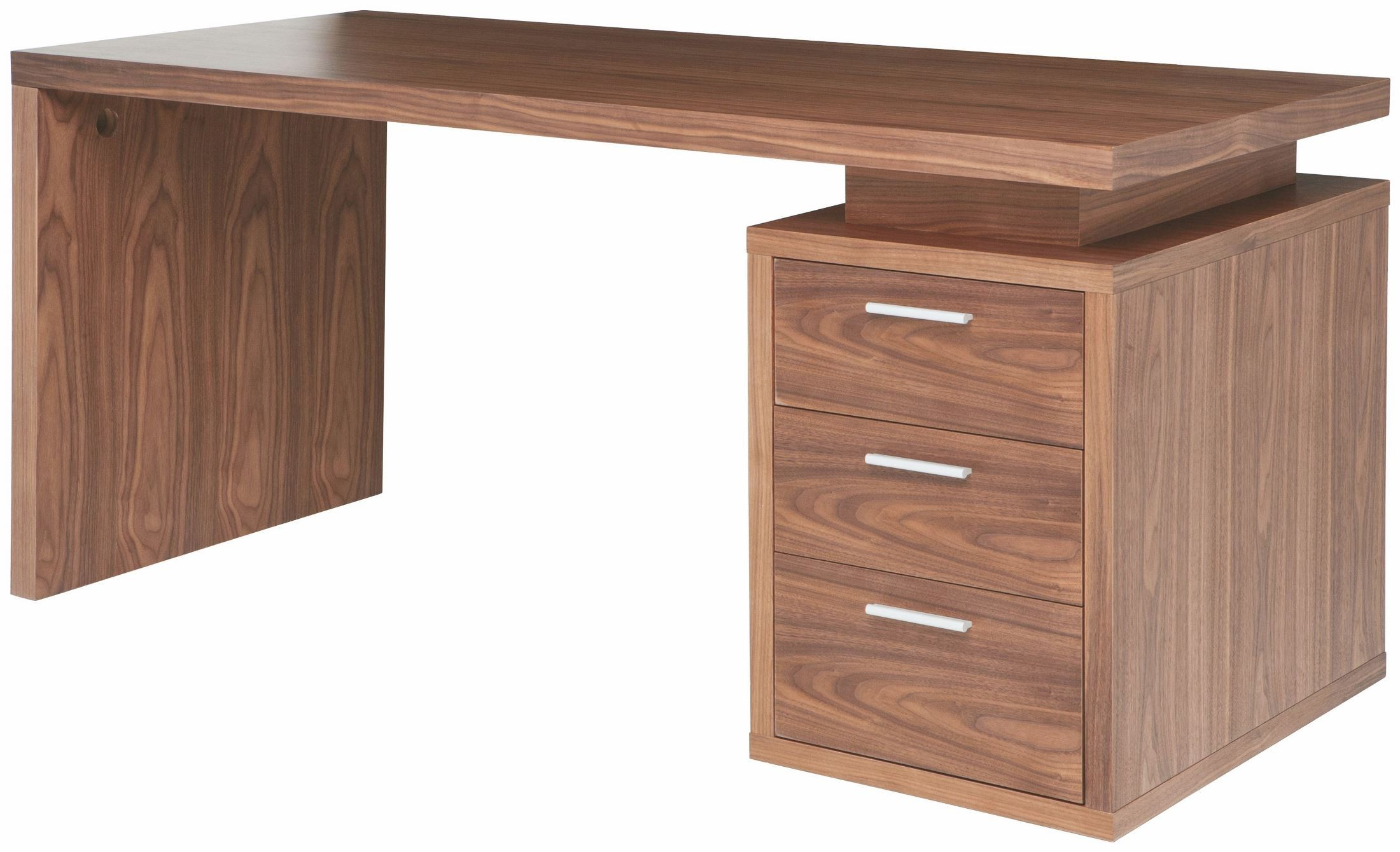 Walnut Wood Furniture ~ Benjamin walnut wood desk table from nuevo coleman furniture
