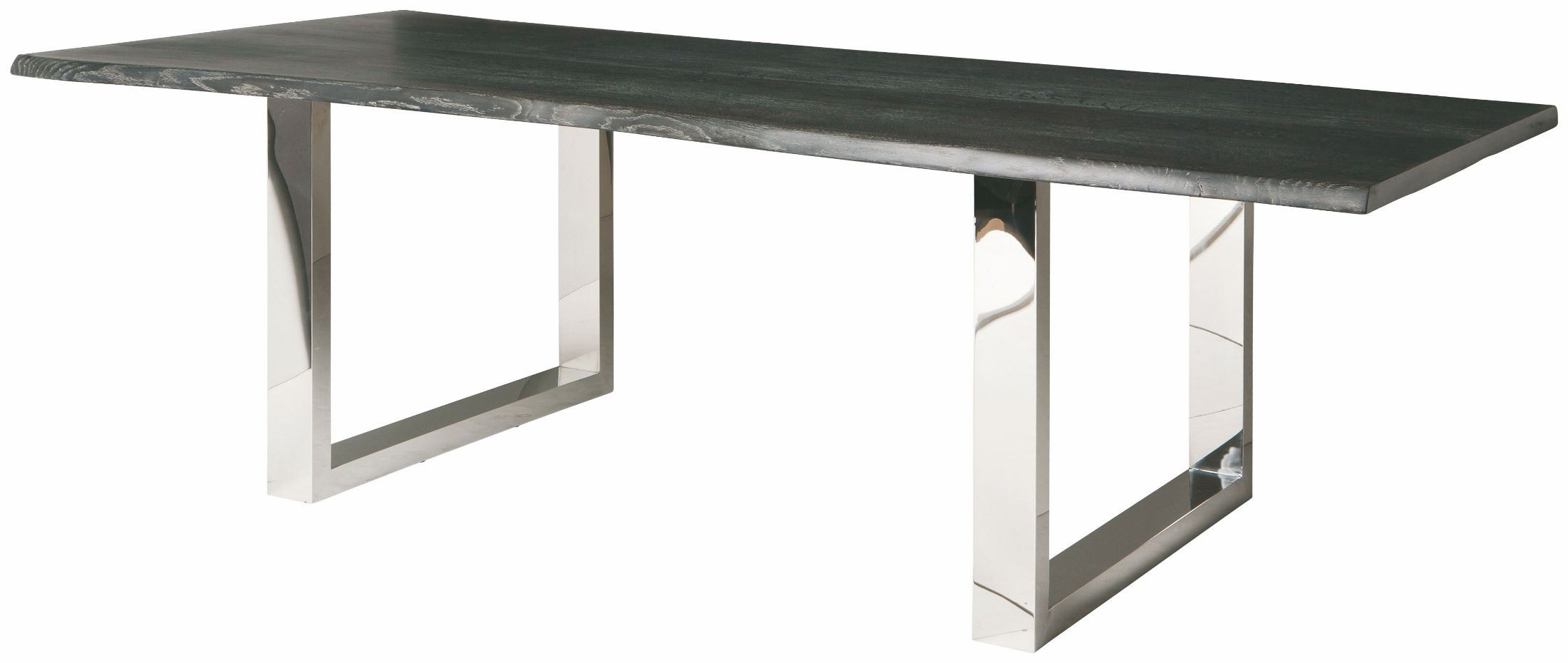 Lyon 78 Quot Oxidized Grey Wood Rectangular Dining Table From