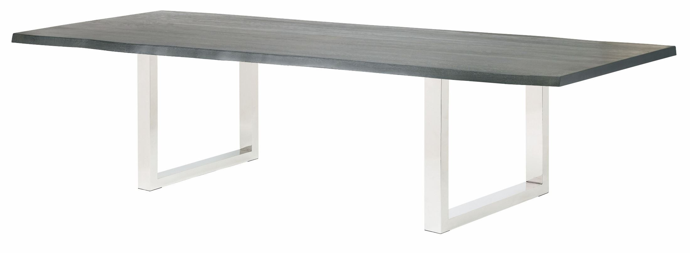 Lyon 112 Quot Oxidized Grey Wood Rectangular Dining Table From
