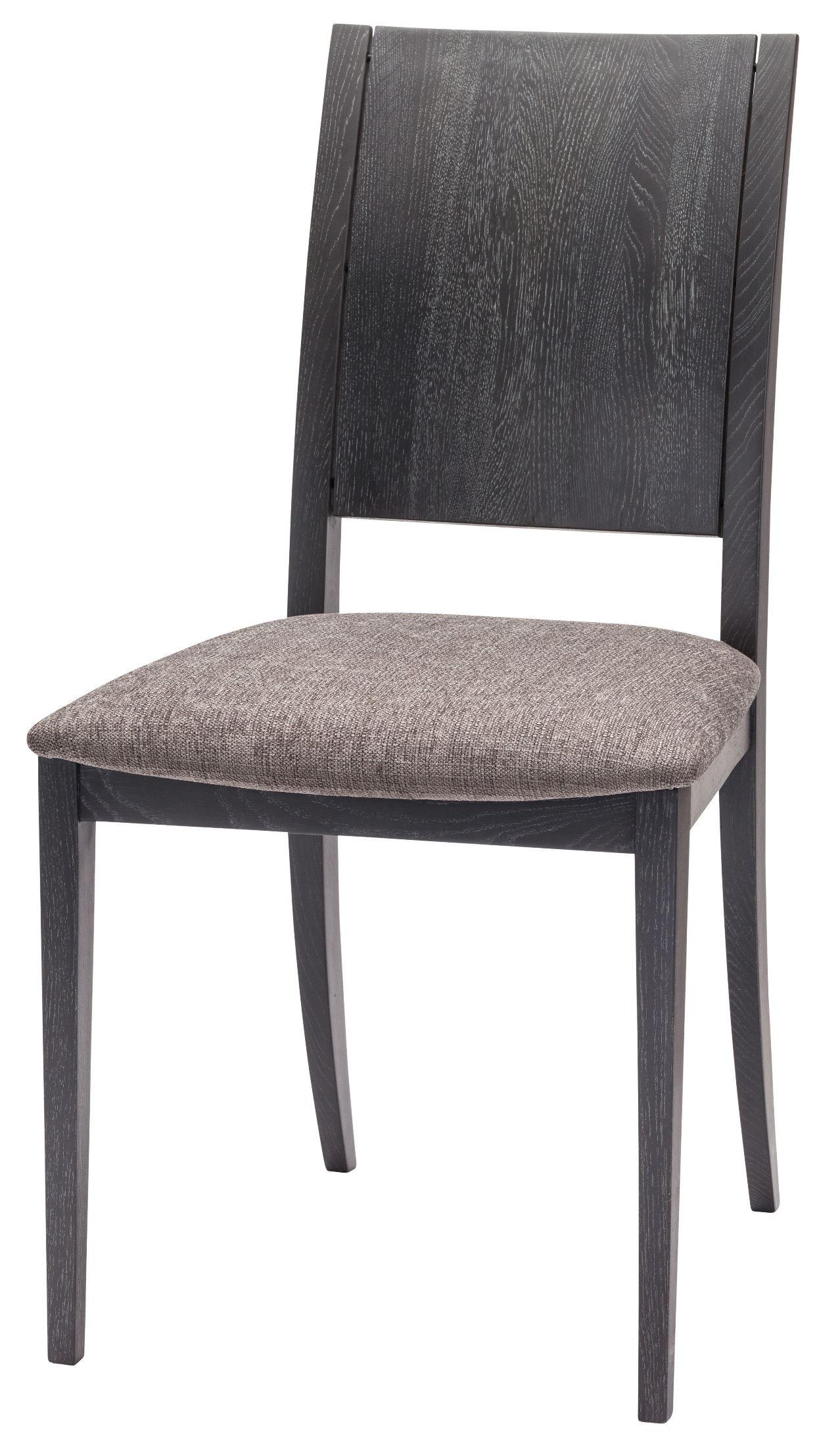 Eska Dark Grey Fabric Dining Chair From Nuevo Coleman Furniture
