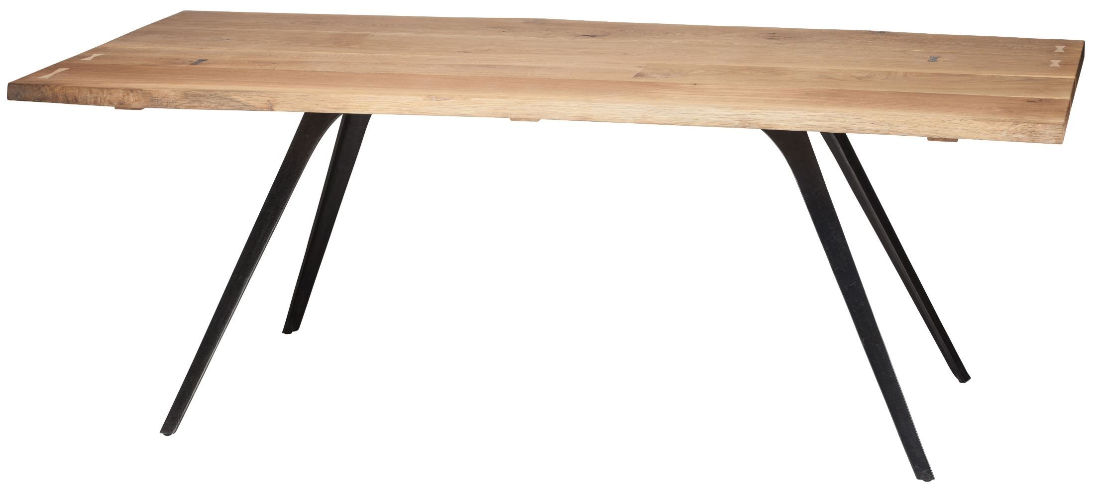 Vega Raw Wood Dining Table From Nuevo Coleman Furniture