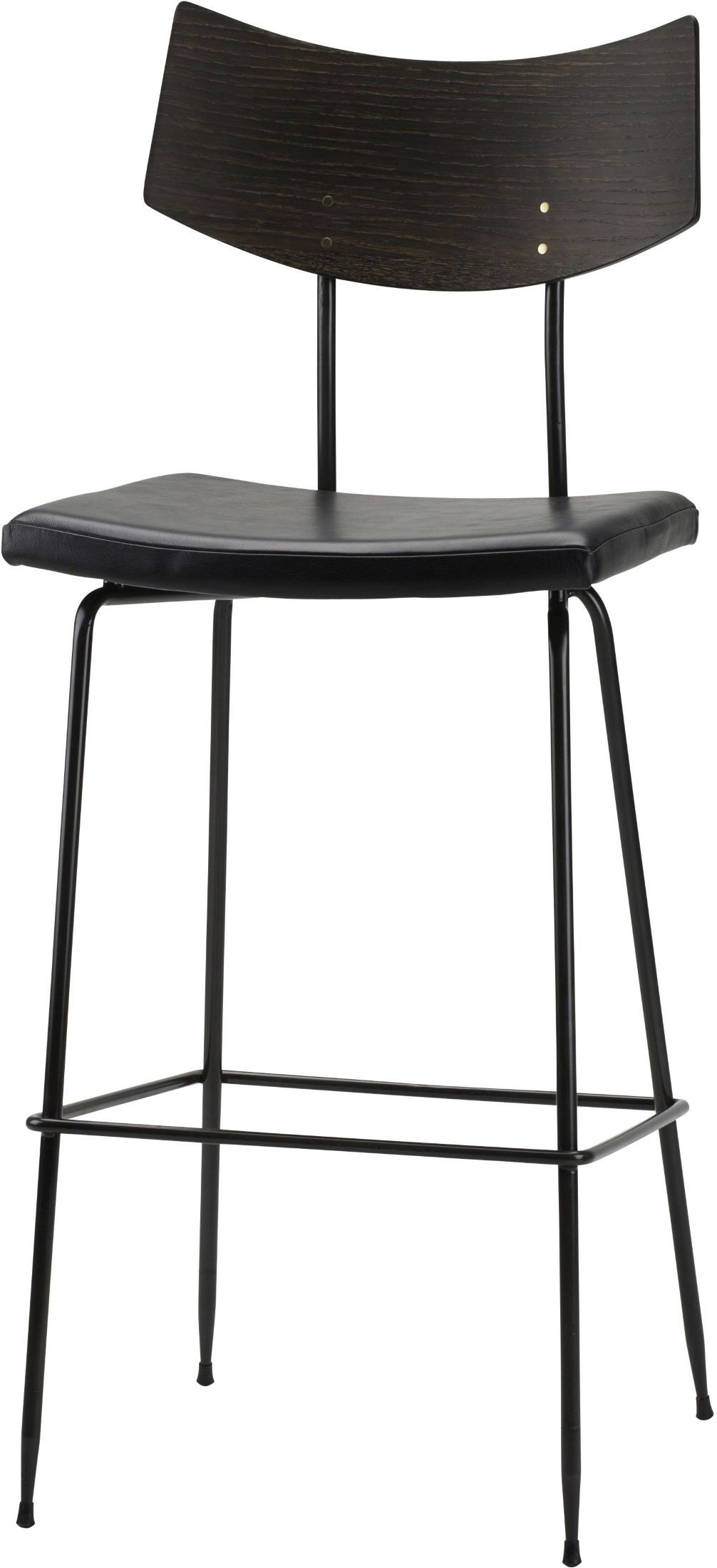 Soli Black Bar Stool From Nuevo Coleman Furniture