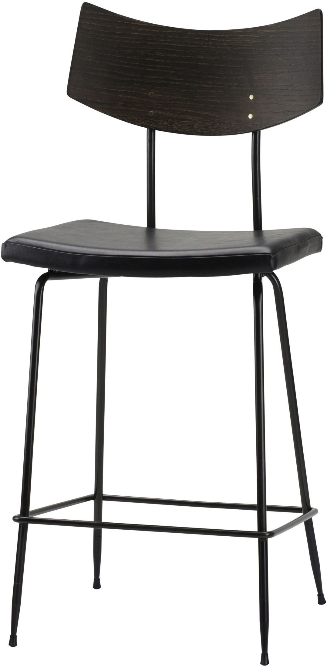 Soli Black Counter Stool From Nuevo Coleman Furniture