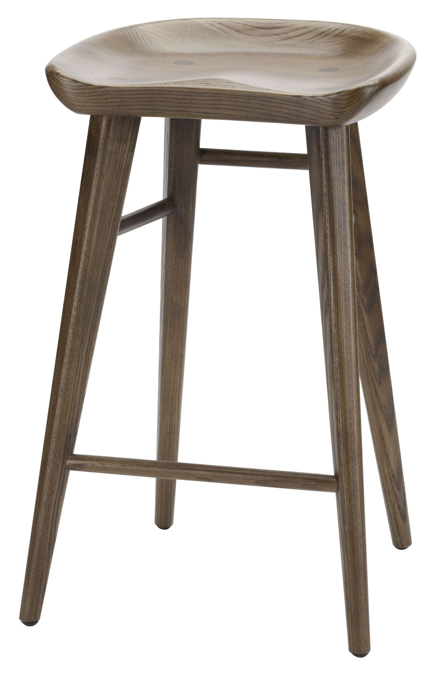 Kami Brown Wood Bar Stool From Nuevo Coleman Furniture