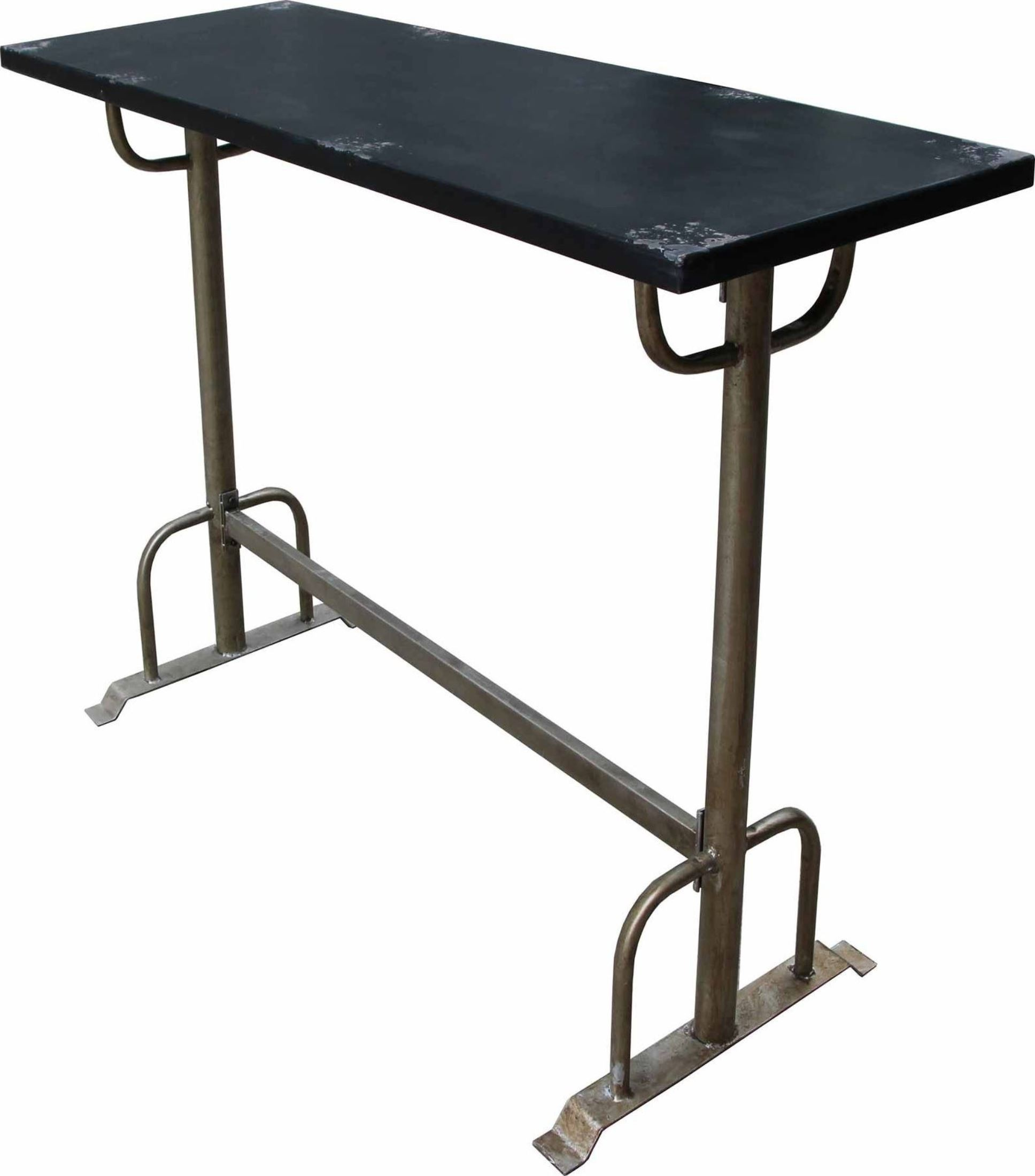 Sturdy Black Bar Table From Moes Home