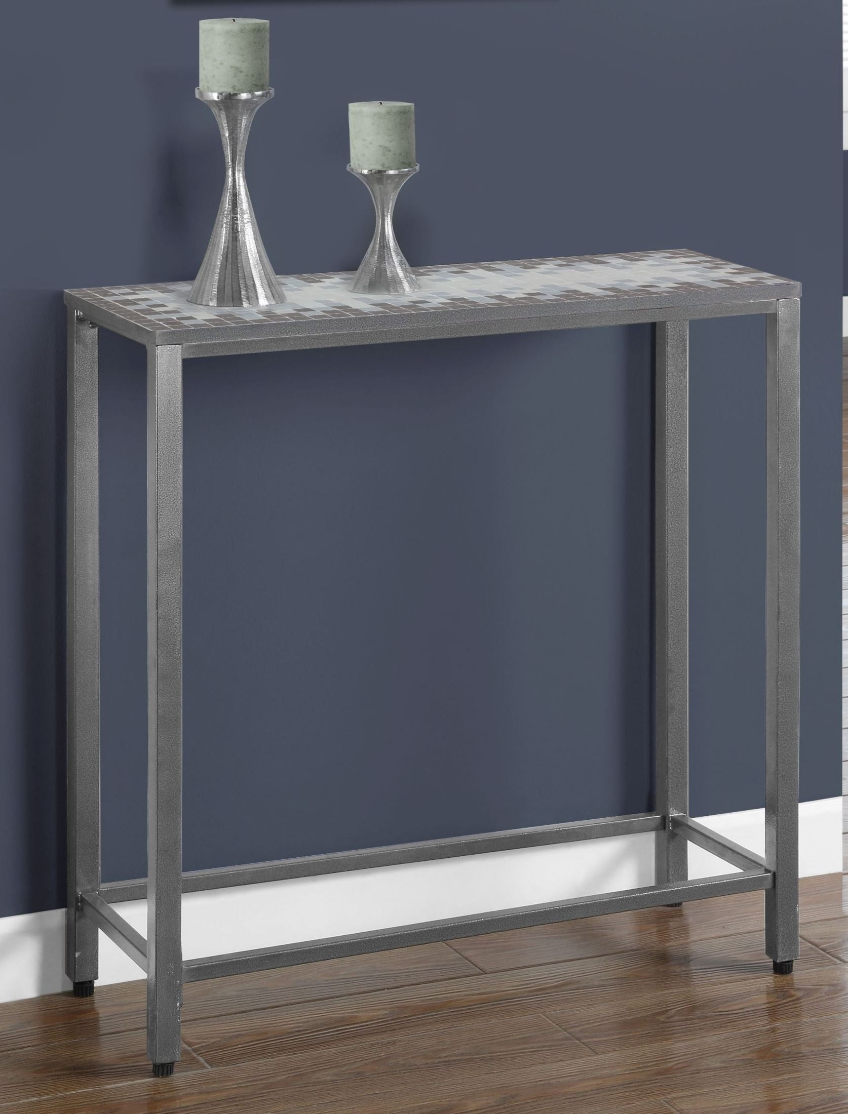 Gray Console Table From Monarch Coleman Furniture