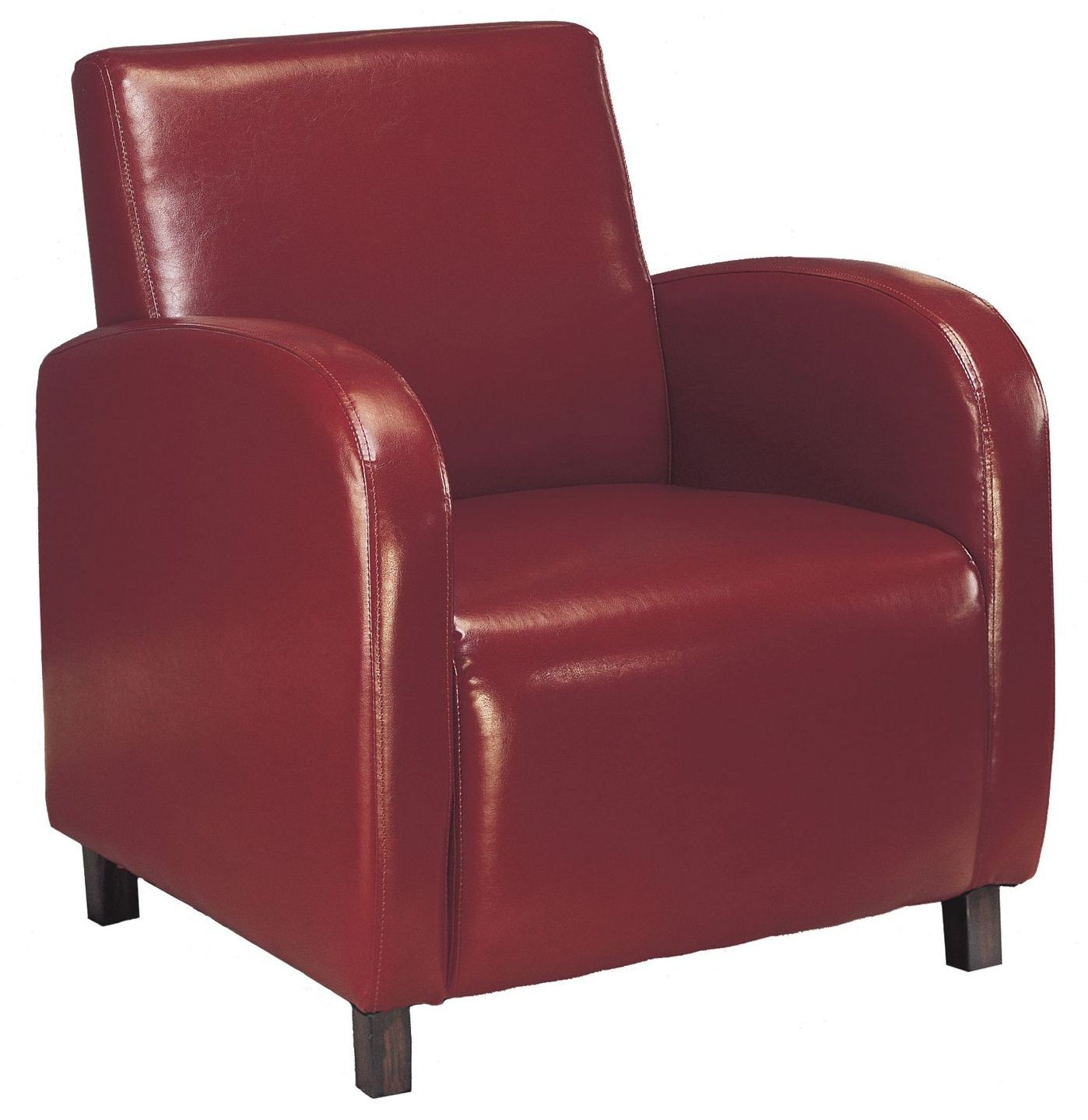 8051 Burgundy Accent Chair From Monarch I 8051 Coleman